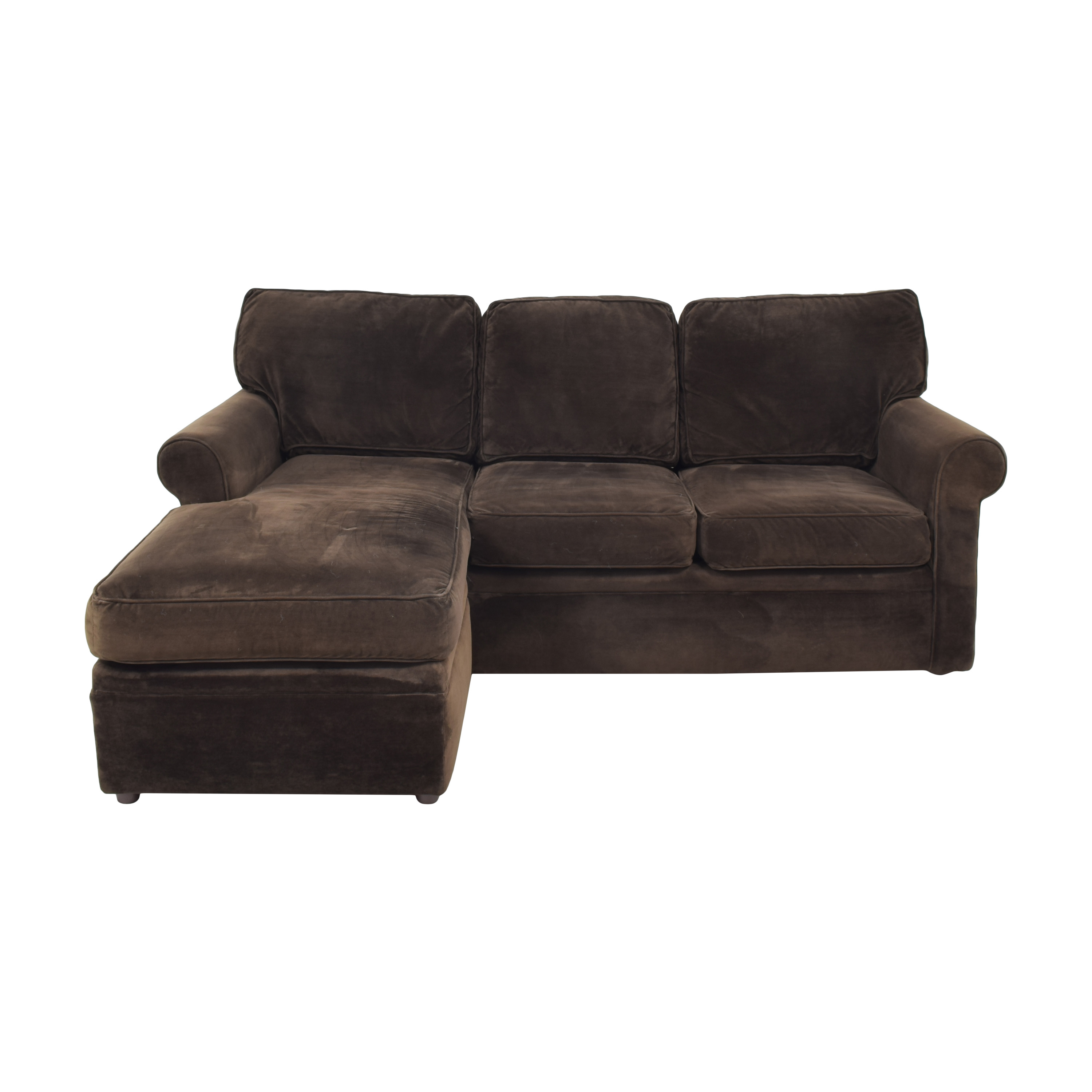 Rowe Furniture Dalton Sofa with Chaise Ottoman Rowe Furniture
