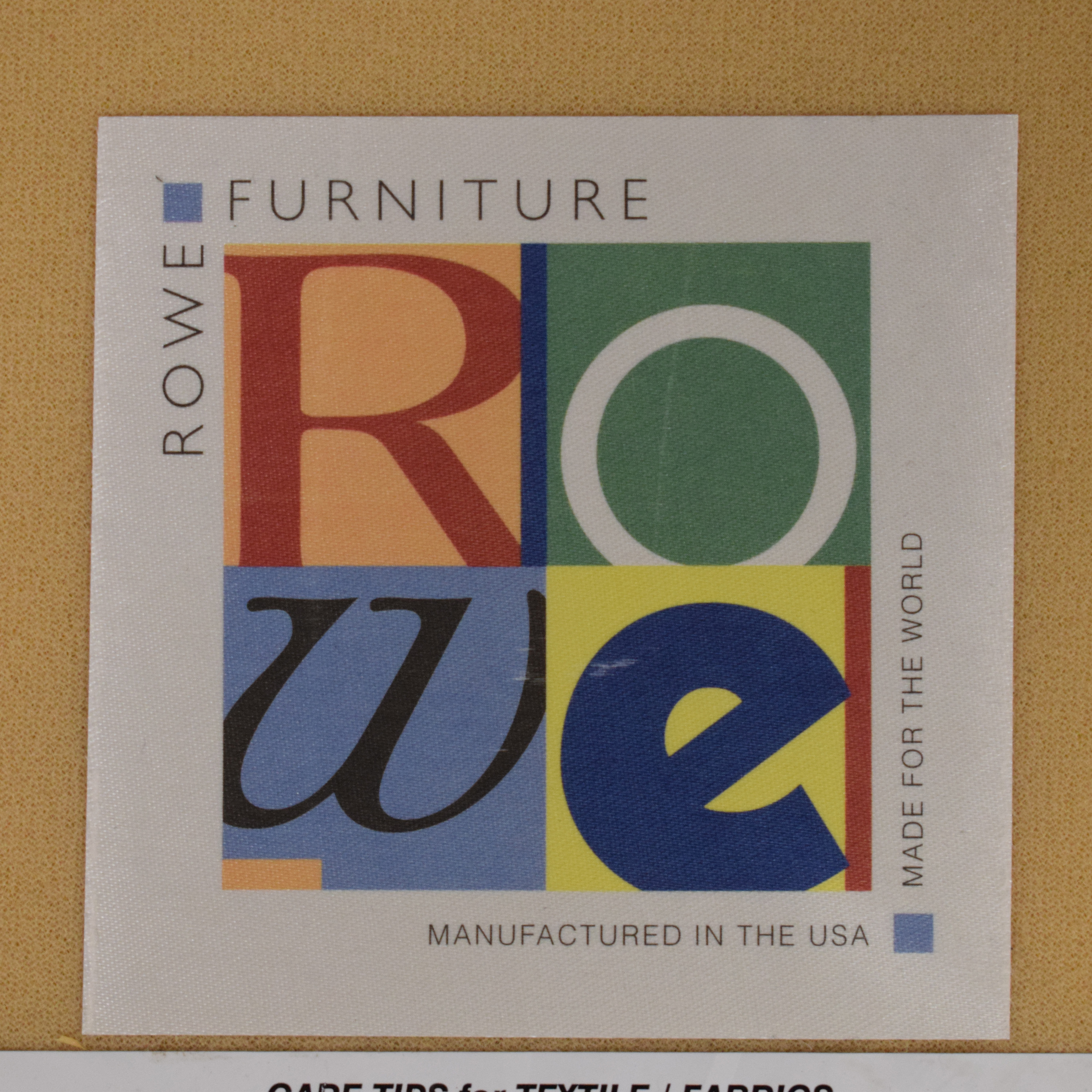 buy Rowe Furniture Dalton Sofa with Chaise Ottoman Rowe Furniture Sofas