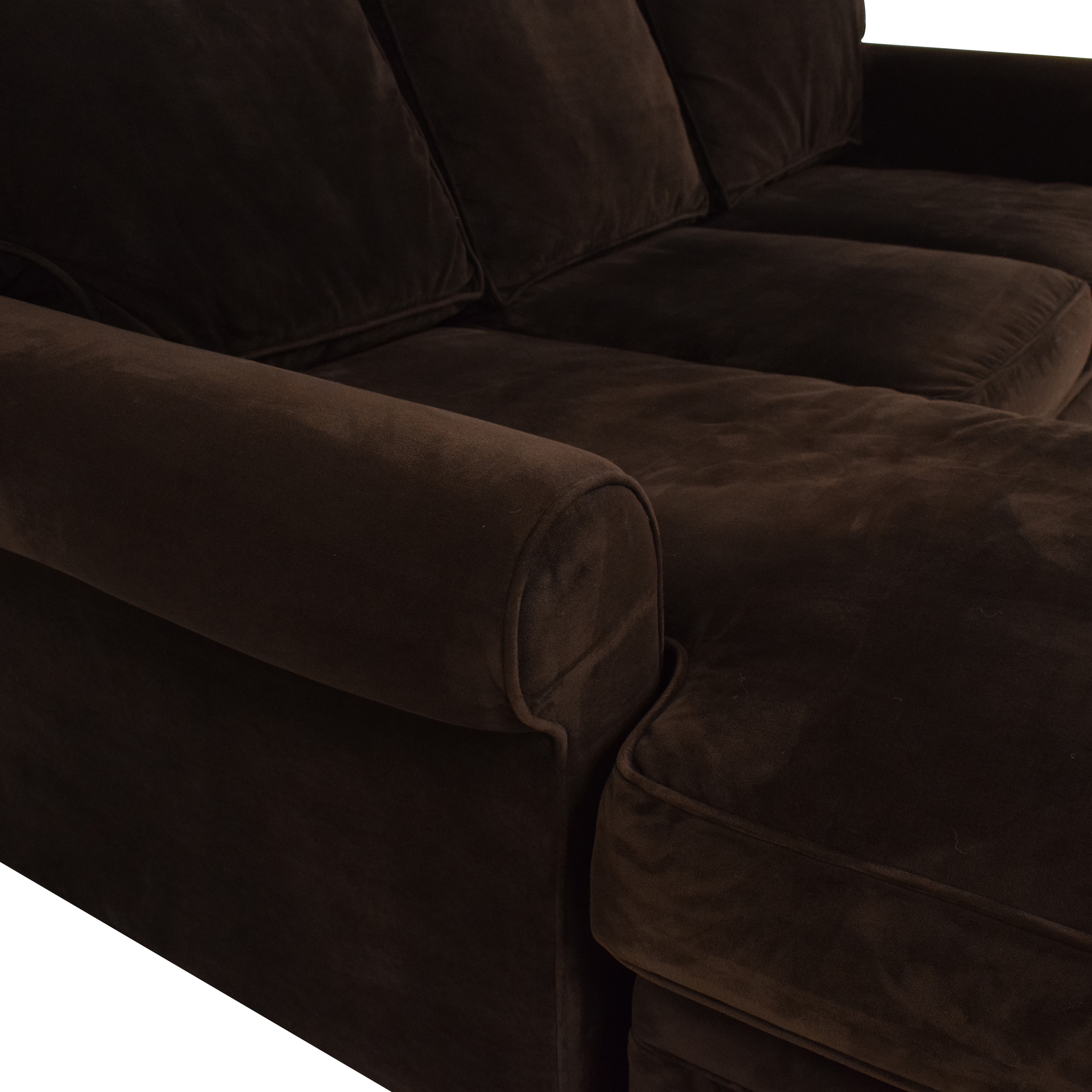 buy Rowe Furniture Dalton Sofa with Chaise Ottoman Rowe Furniture Sectionals