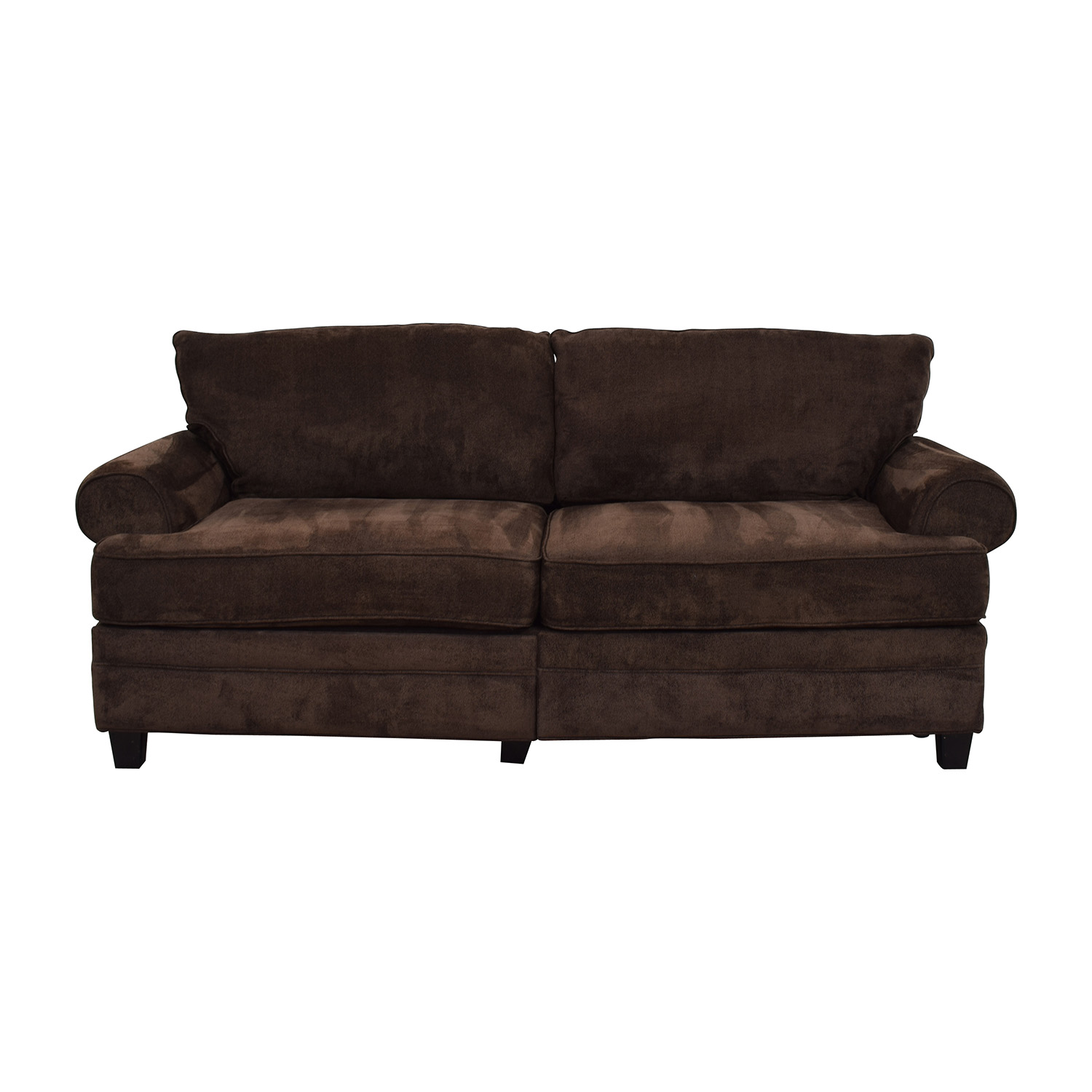 Pleasant 68 Off Bobs Discount Furniture Bob Furniture Kendall Ii Brown Sofa With Storage Sofas Home Remodeling Inspirations Gresiscottssportslandcom