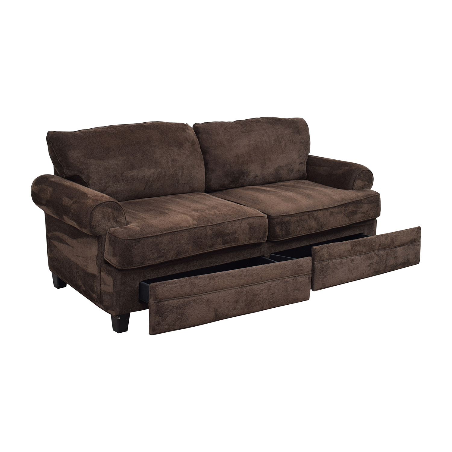 68% OFF Bob s Furniture Bob Furniture Kendall II Brown Sofa with