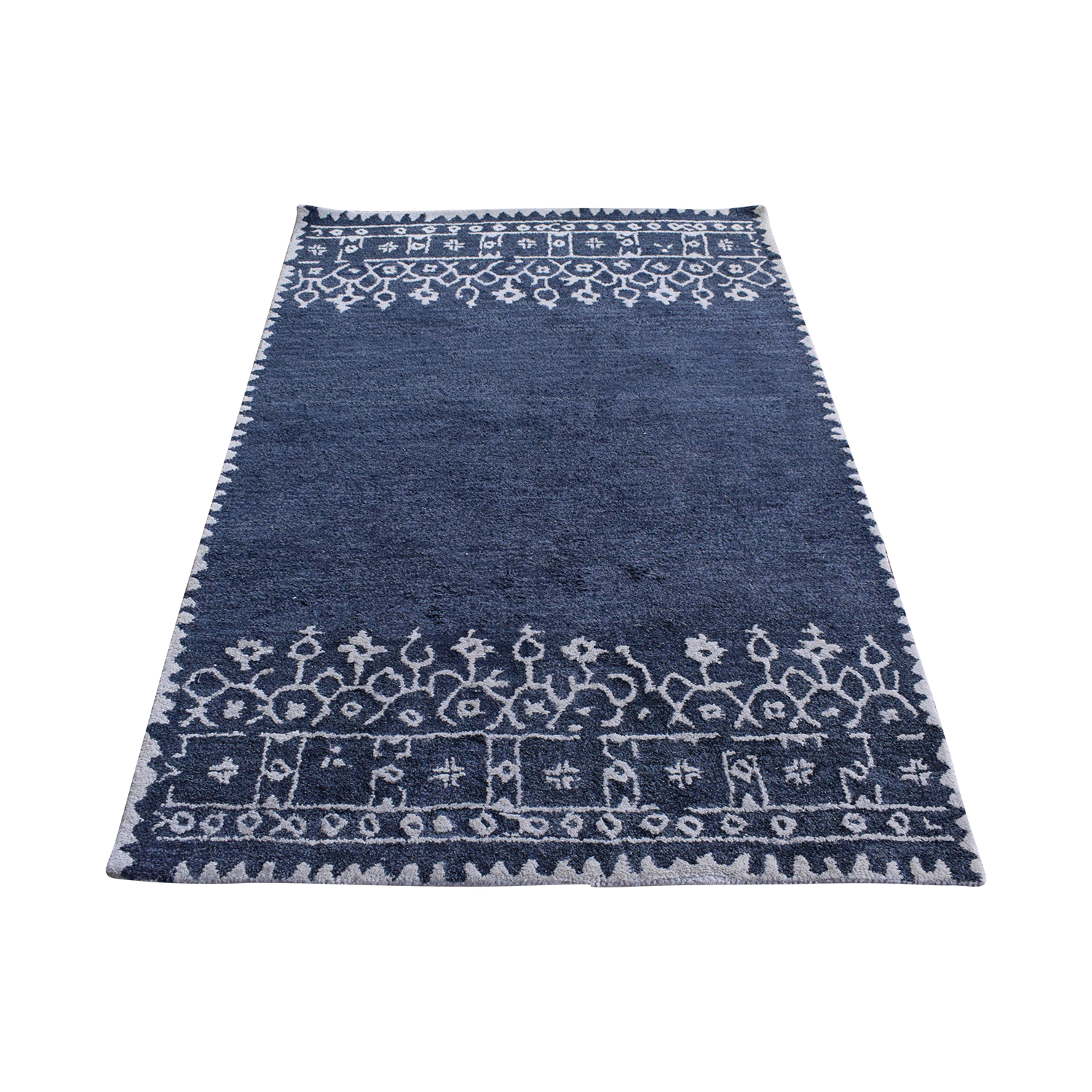 Pottery Barn Pottery Barn Desa Bordered Wool Rug ma