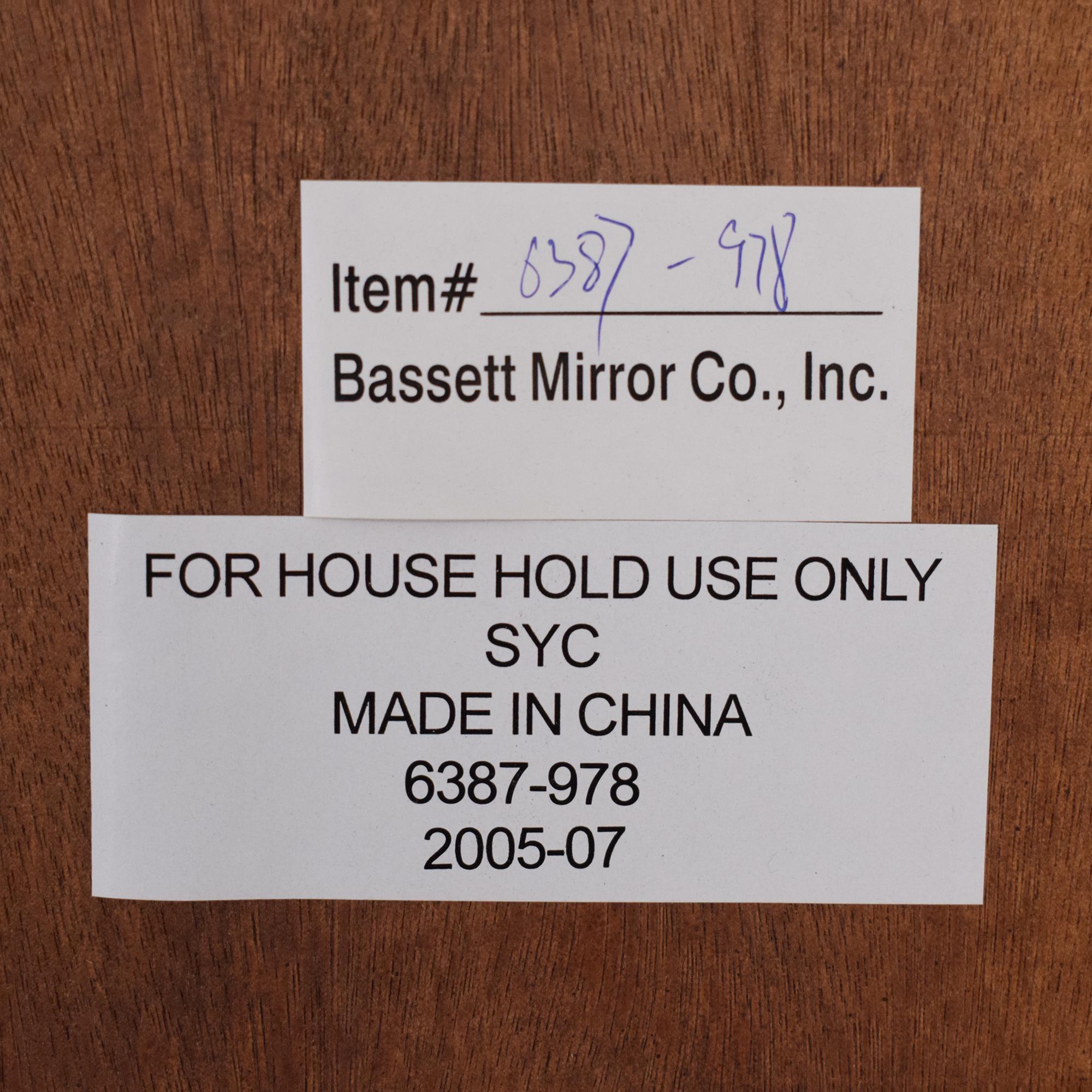 Bassett Mirror Company Bassett Mirror Company Wall Mirror second hand