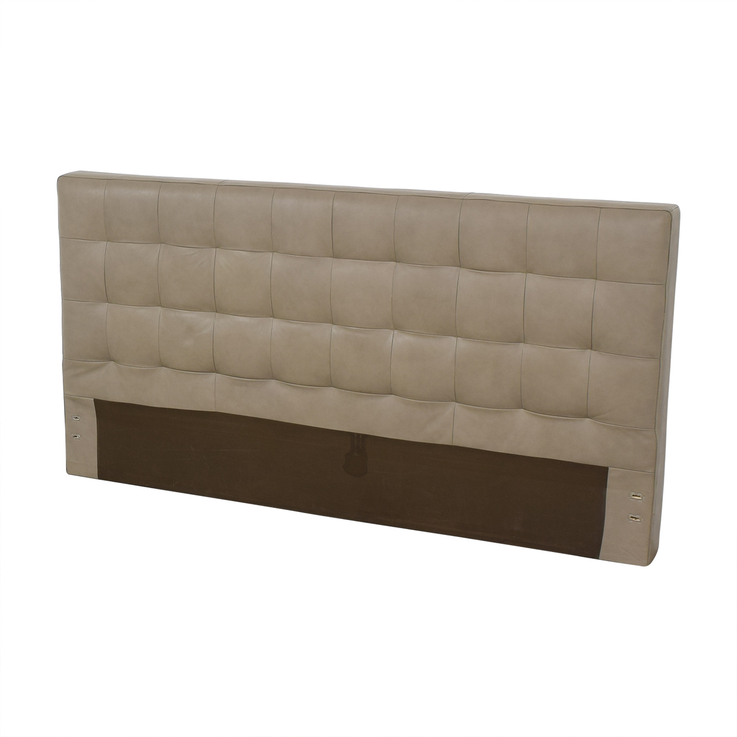 West Elm West Elm Grid Tufted King Headboard nj