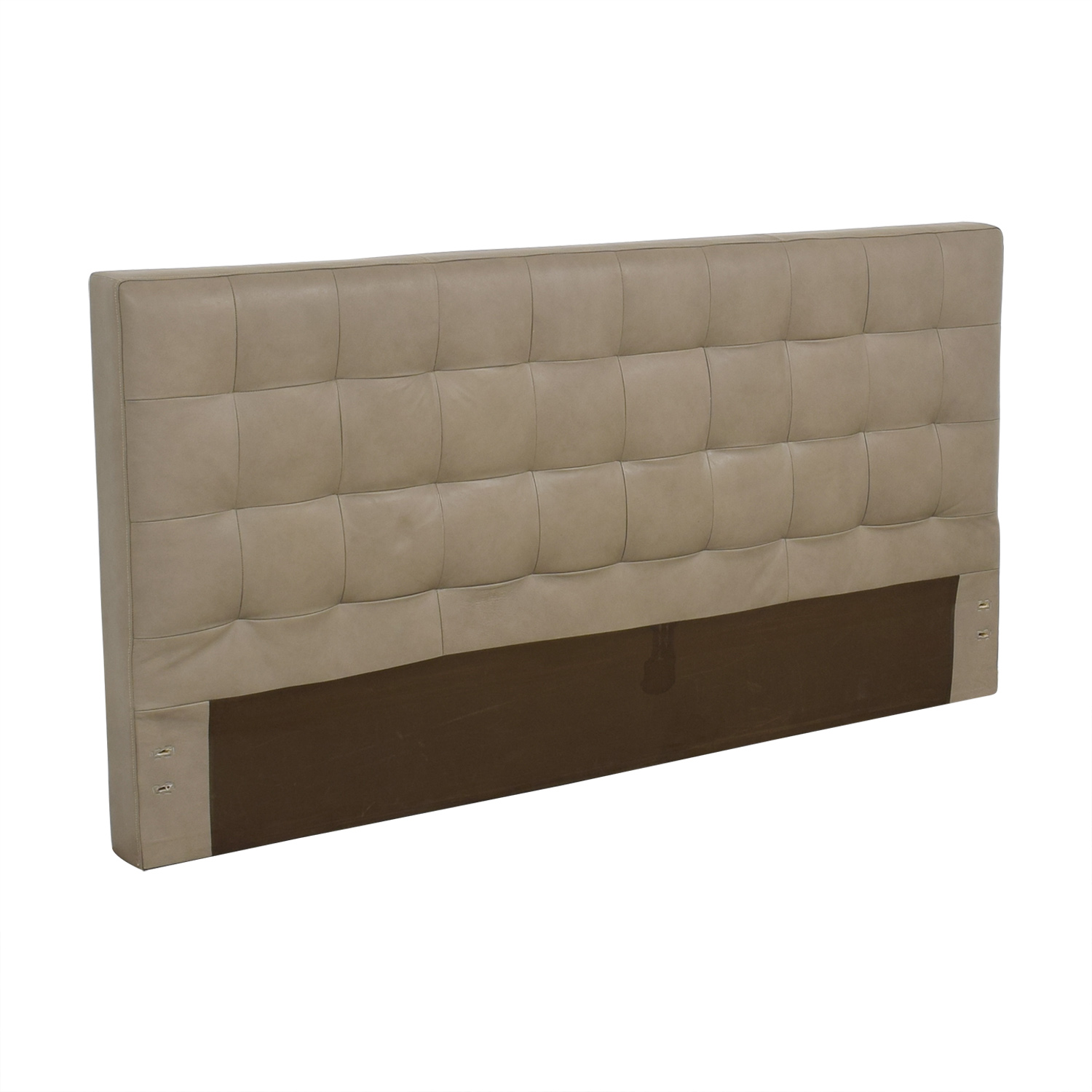buy West Elm Grid Tufted King Headboard West Elm