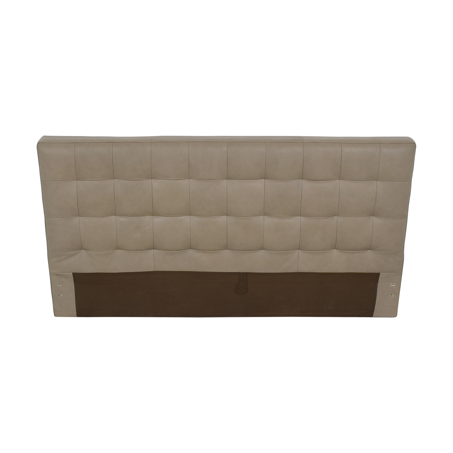 West Elm West Elm Grid Tufted King Headboard pa