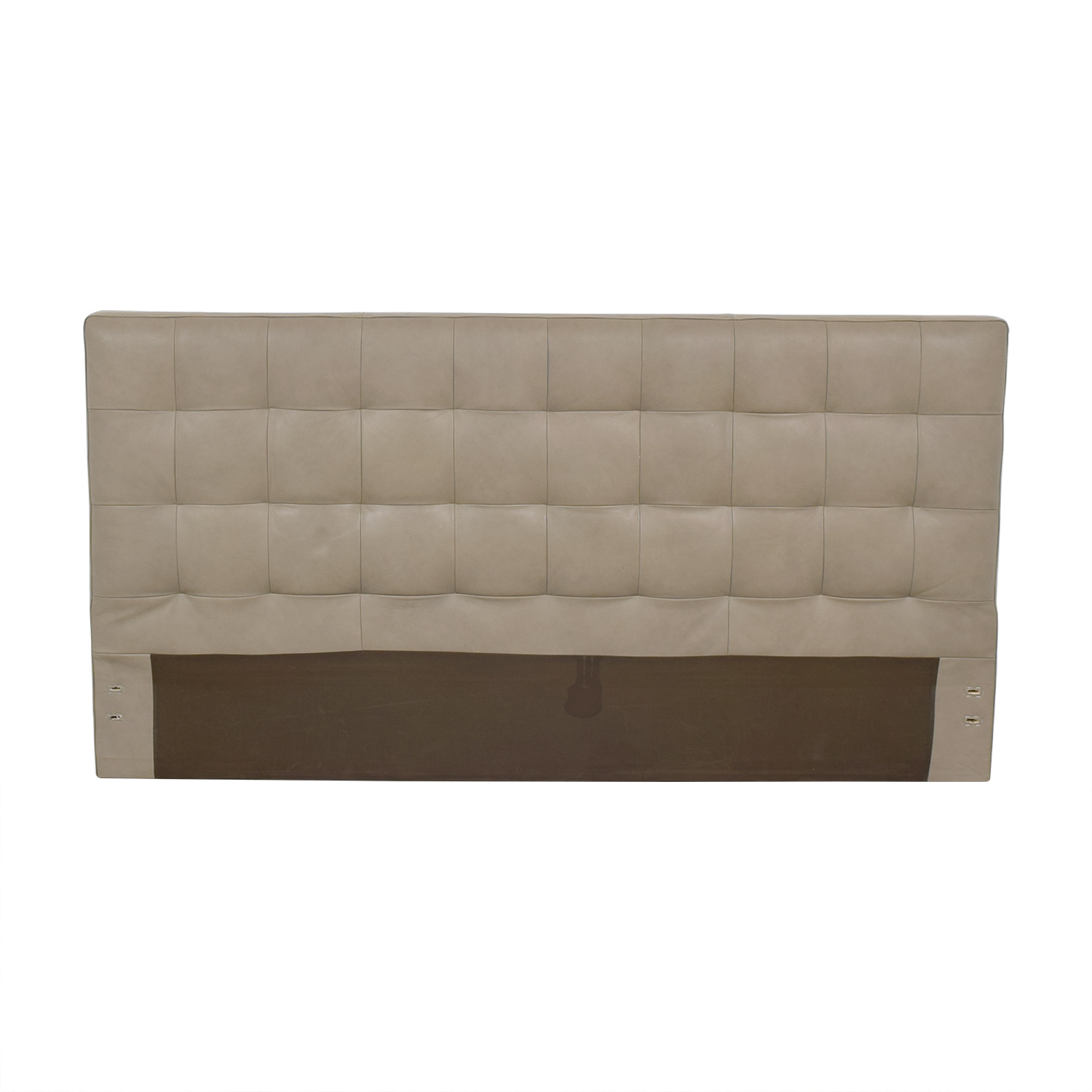 buy West Elm Grid Tufted King Headboard West Elm Headboards