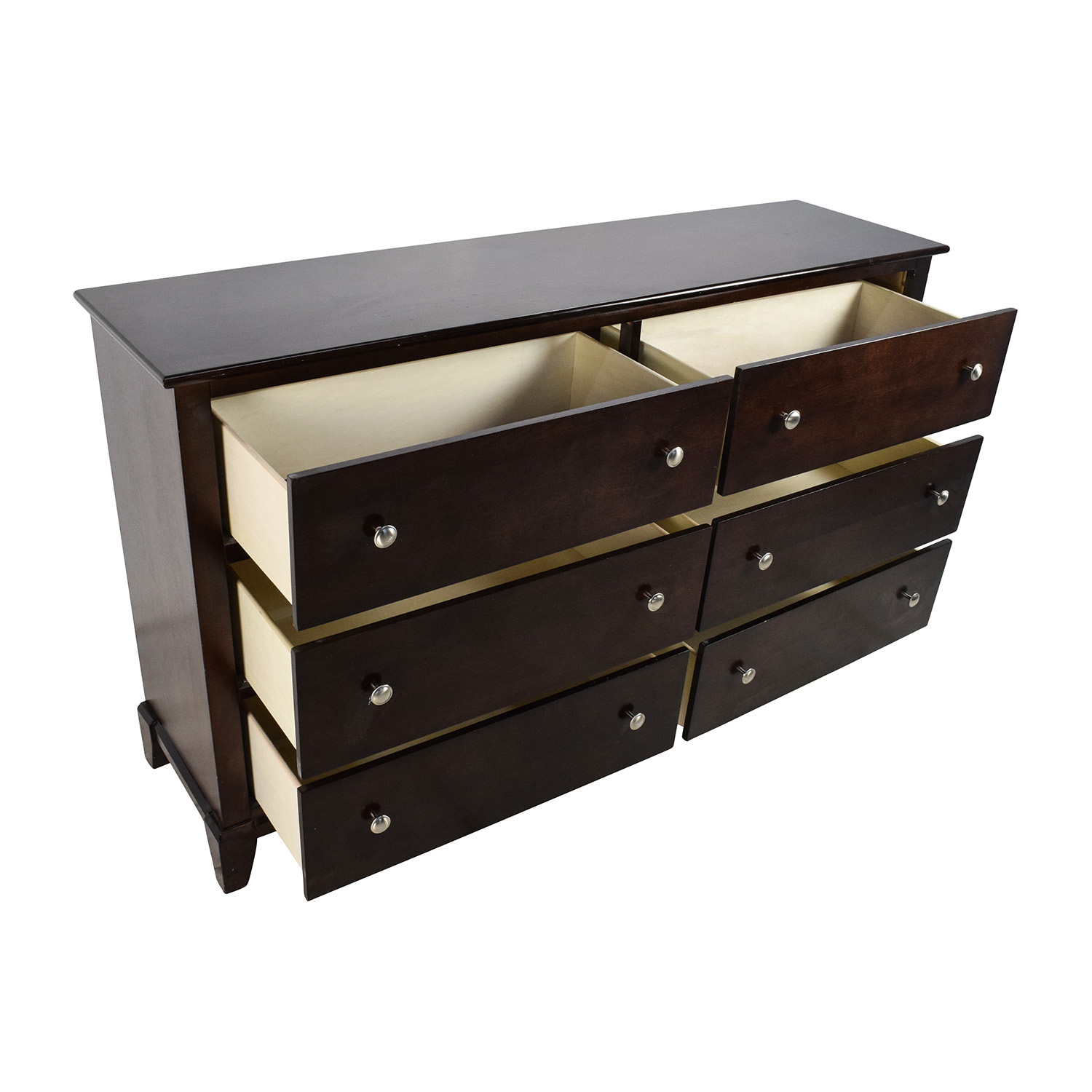 64% OFF - Bob\'s Discount Furniture Bob\'s Furniture Large 6-Drawer Dresser /  Storage