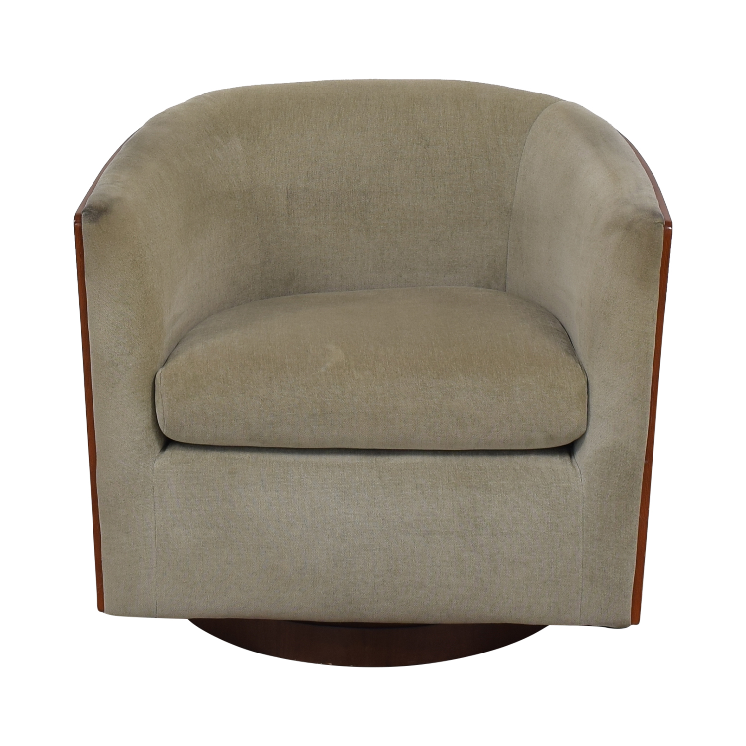 West Elm Luther Swivel Chair / Accent Chairs
