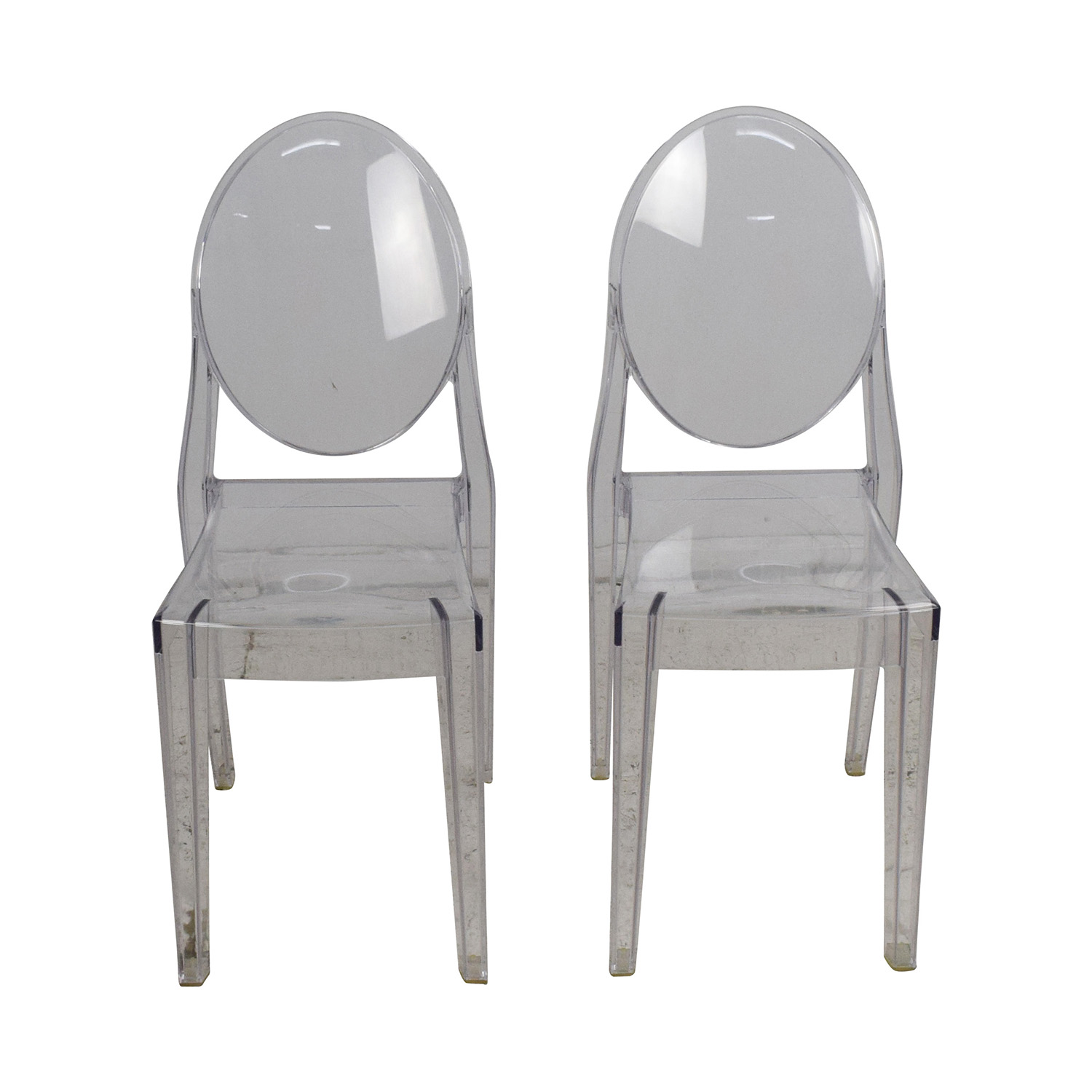 Zuo Modern Contemporary Zuo Modern Victoria Ghost Chairs for sale