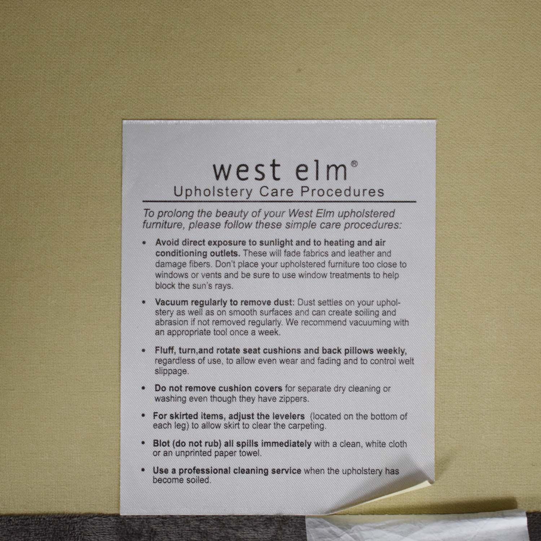 shop West Elm Arm Chair West Elm Accent Chairs