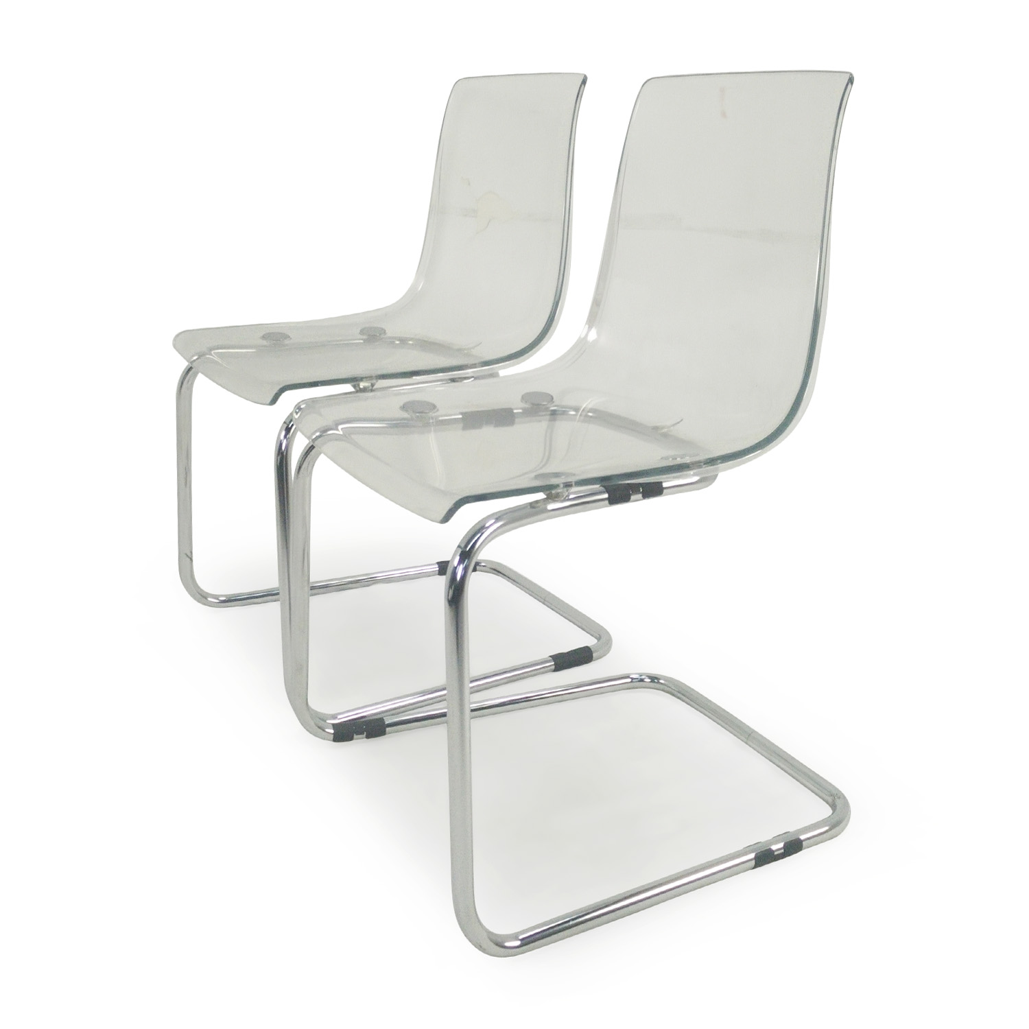 72 off ikea tobias transparent chairs chairs for Chaise tobias ikea