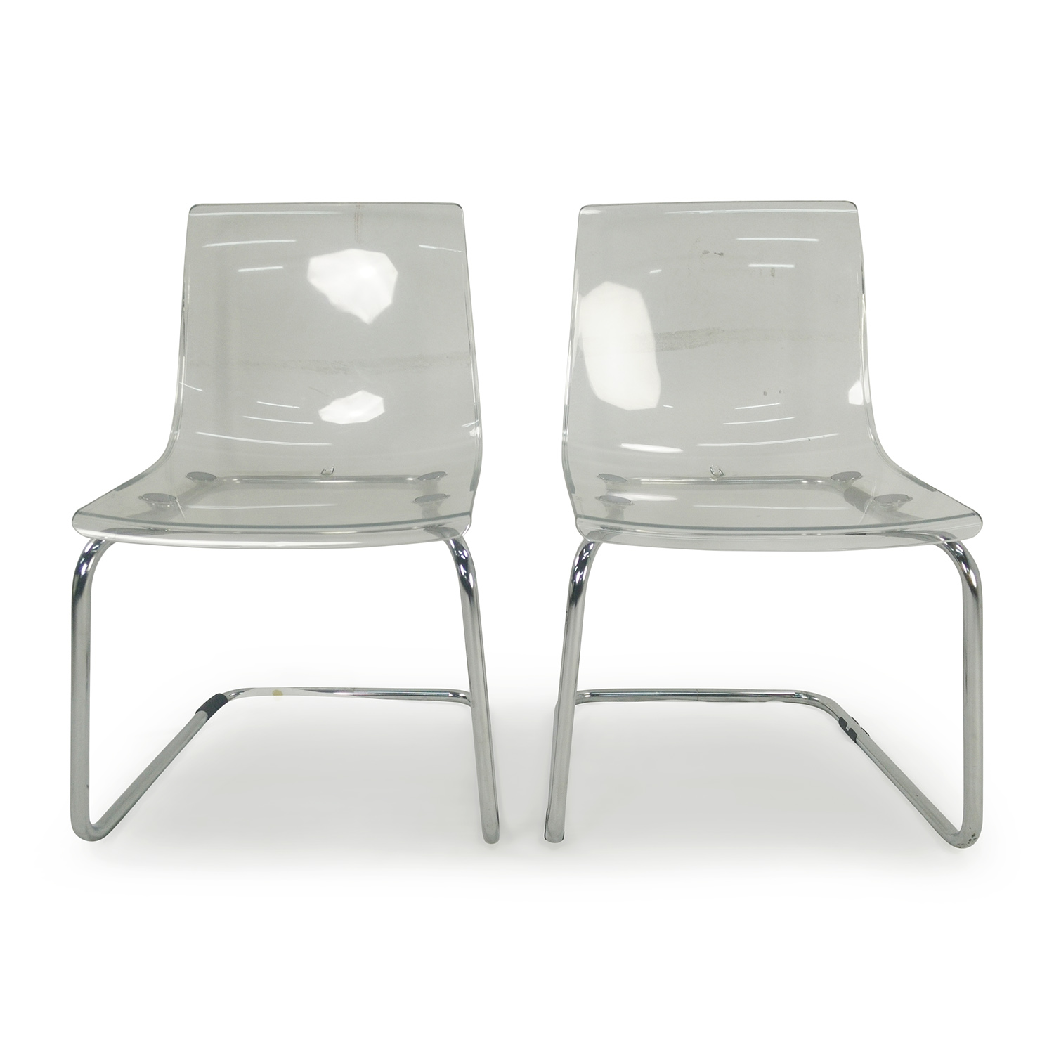 Transparent chair ikea medium size of desksikea adjustable for Ikea clear dining chairs