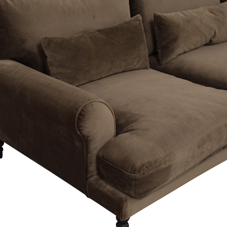 Interior Define Maxwell Chaise Sofa sale