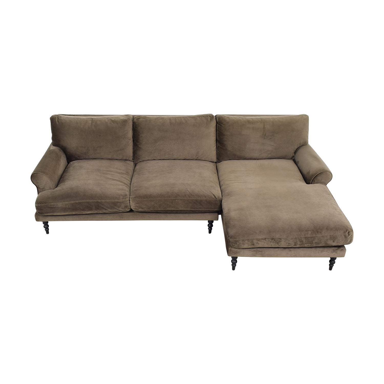 Interior Define Interior Define Maxwell Chaise Sofa pa