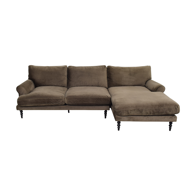 Interior Define Maxwell Chaise Sofa / Sofas