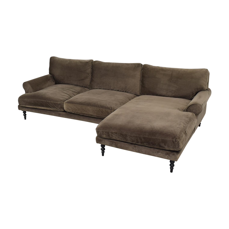 Interior Define Interior Define Maxwell Chaise Sofa nyc