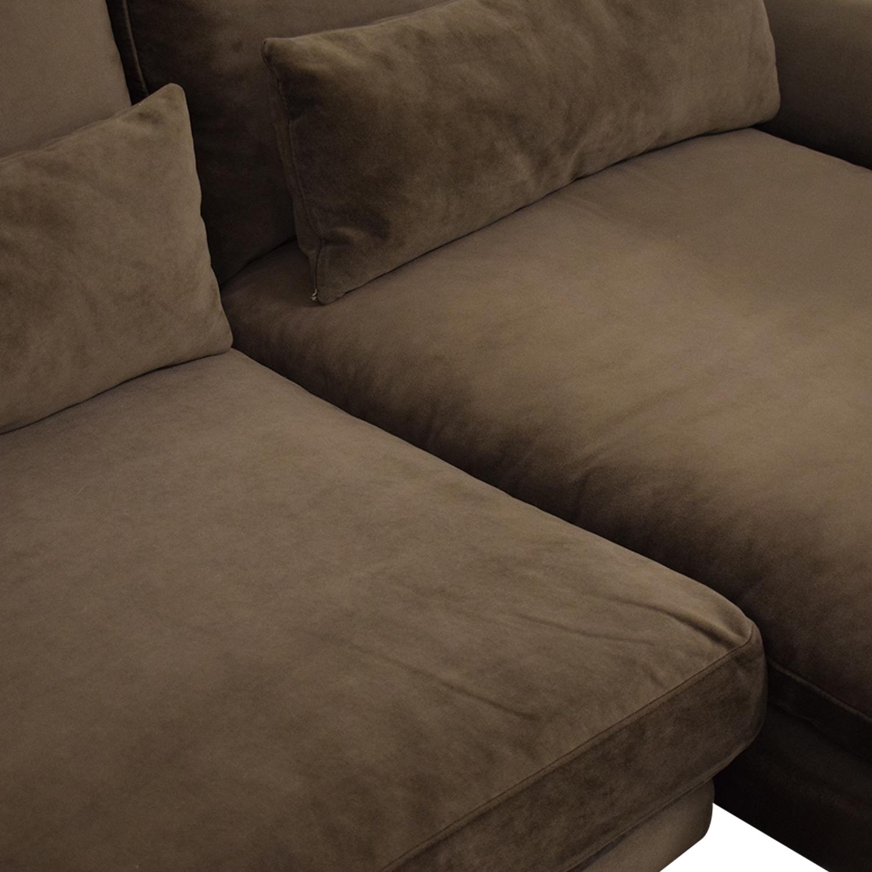 shop Interior Define Maxwell Chaise Sofa Interior Define