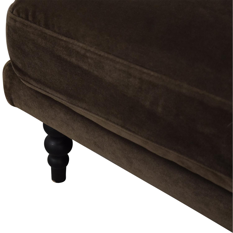 buy Interior Define Maxwell Chaise Sofa Interior Define Sectionals