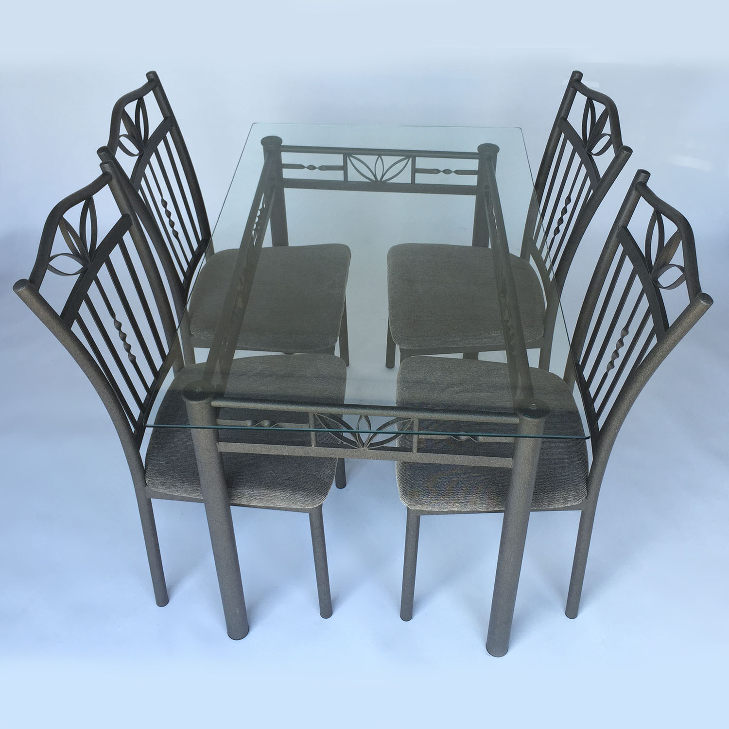 Unknown Brand Glass Dining Set Dining Sets