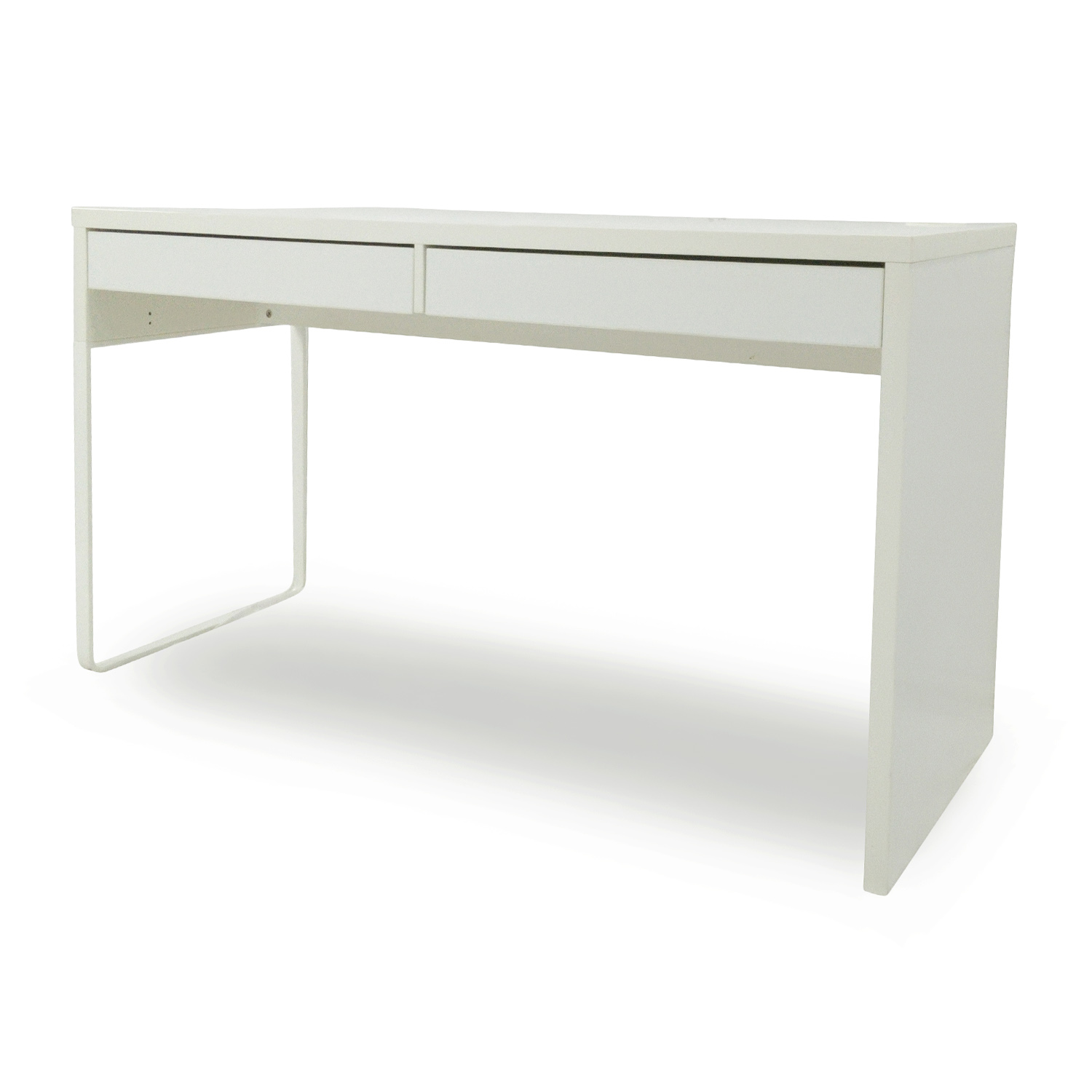 51 off ikea micke white modern desk tables. Black Bedroom Furniture Sets. Home Design Ideas