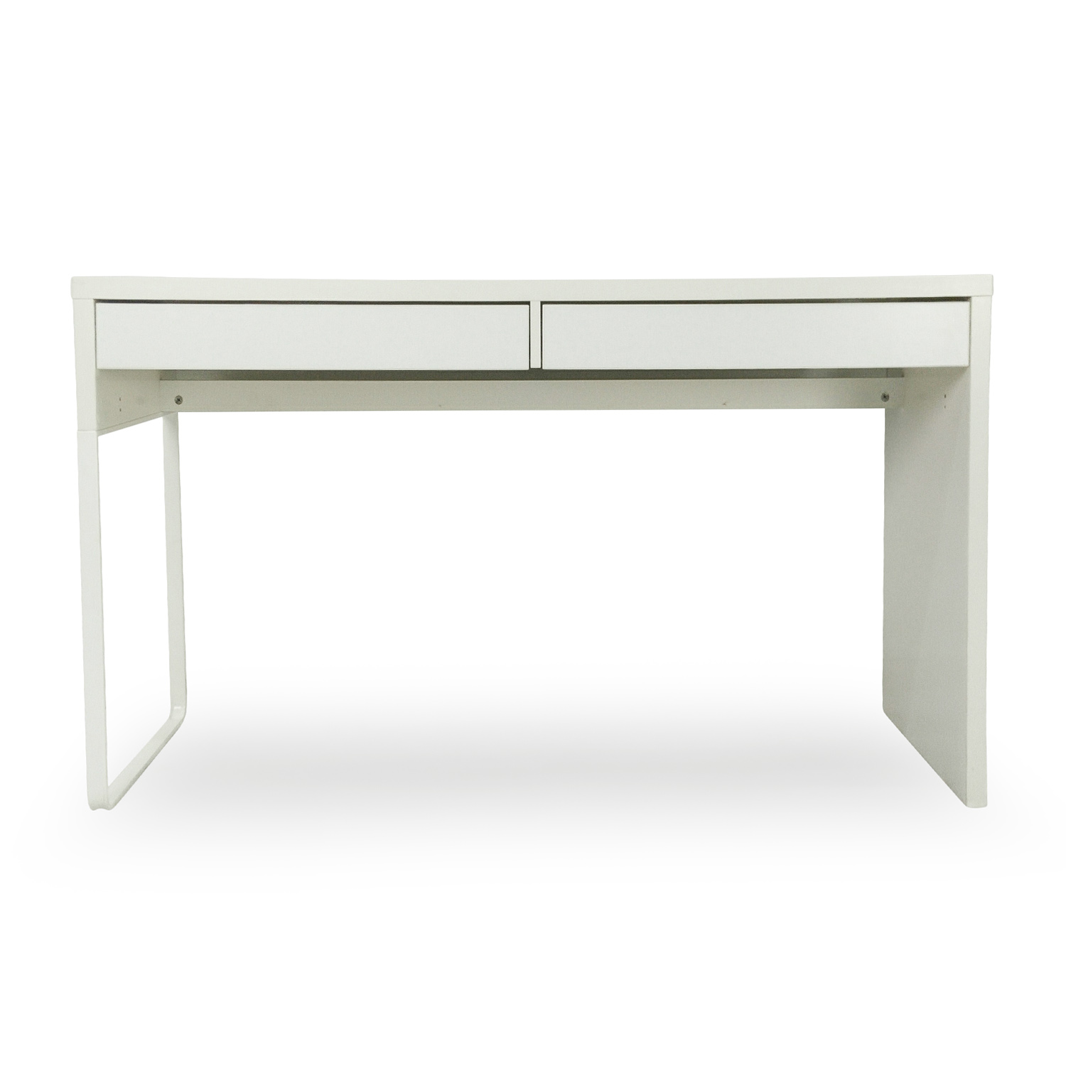 Genial Micke White Modern Desk / Home Office Desks; IKEA ...