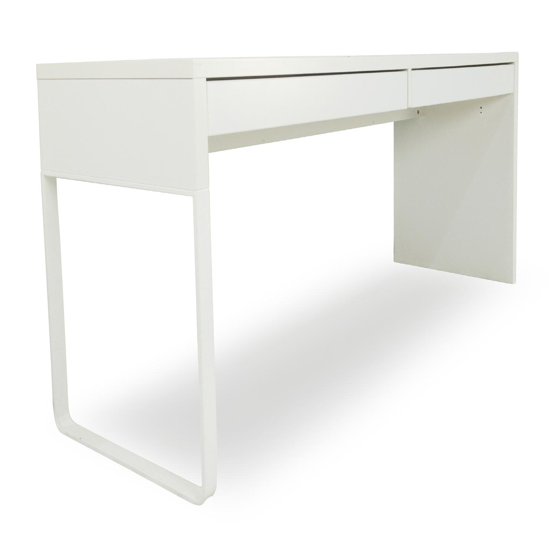 51 off ikea micke white modern desk tables for White desk ikea