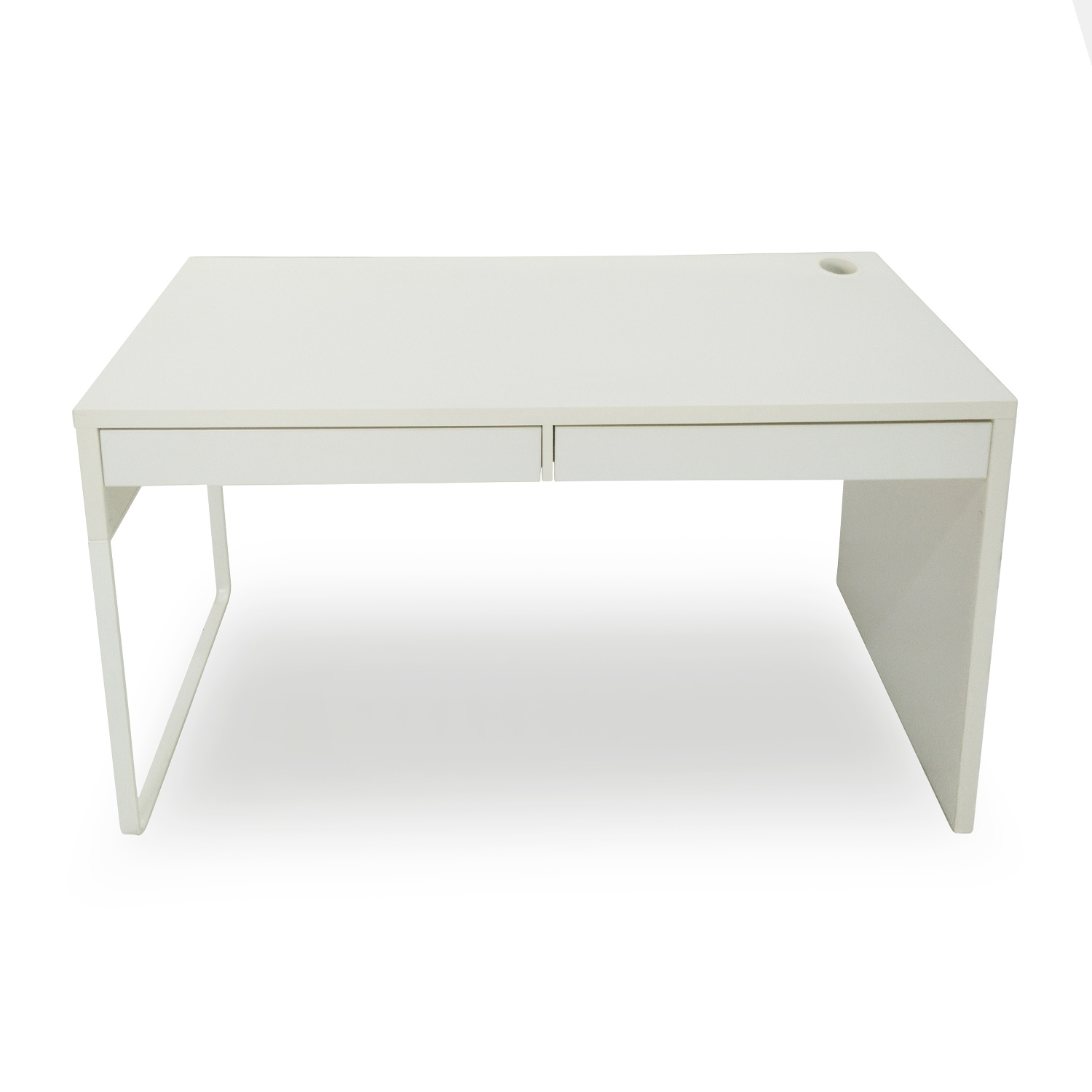 51 Off Ikea Micke White Modern Desk Tables