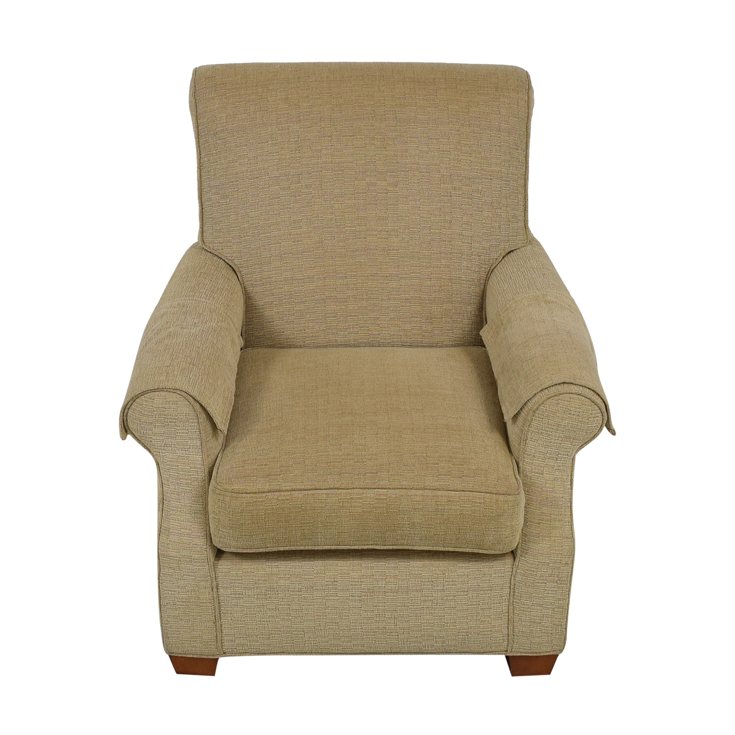 Macy's Macy's Upholstered Accent Chair tan