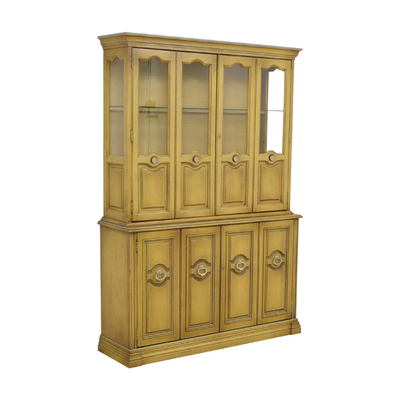 Antique China Cabinet Storage