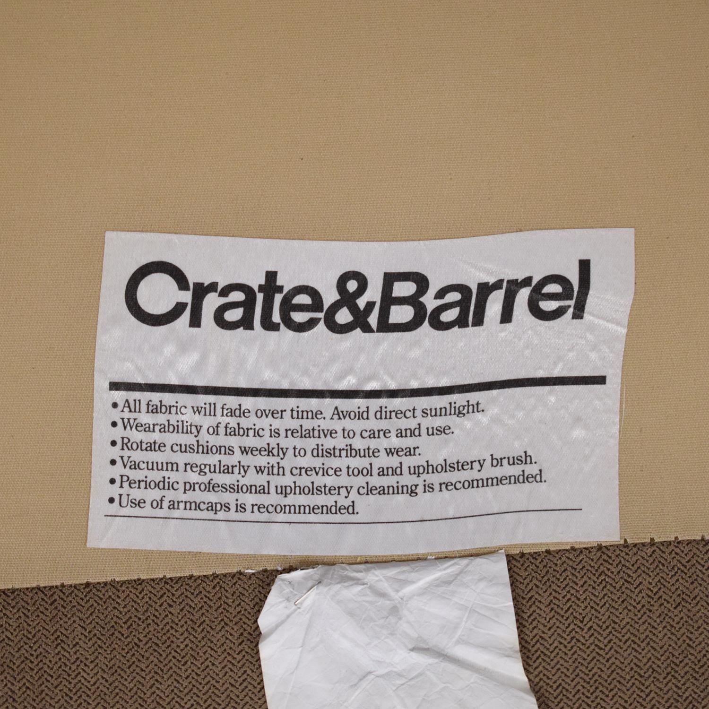 buy Crate & Barrel Axis II Sectional Sofa Crate & Barrel Sofas