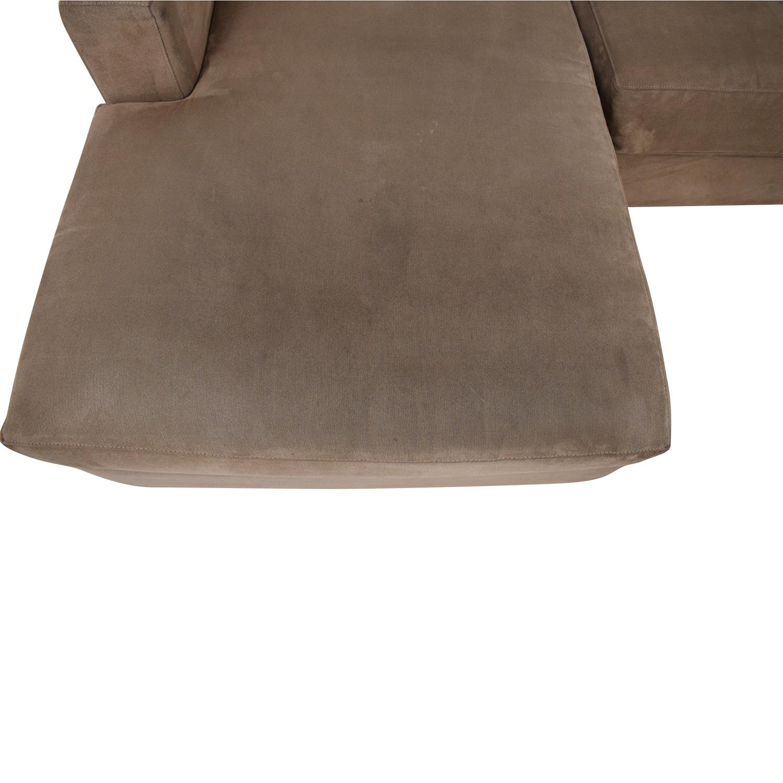 shop Crate & Barrel Axis II Sectional Sofa Crate & Barrel