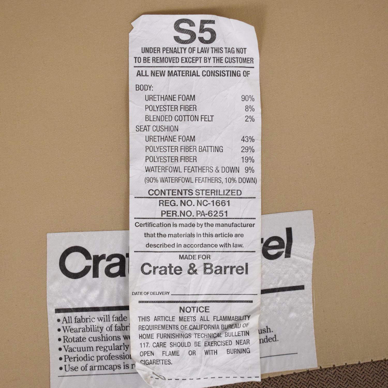 Crate & Barrel Crate & Barrel Axis II Sectional Sofa price
