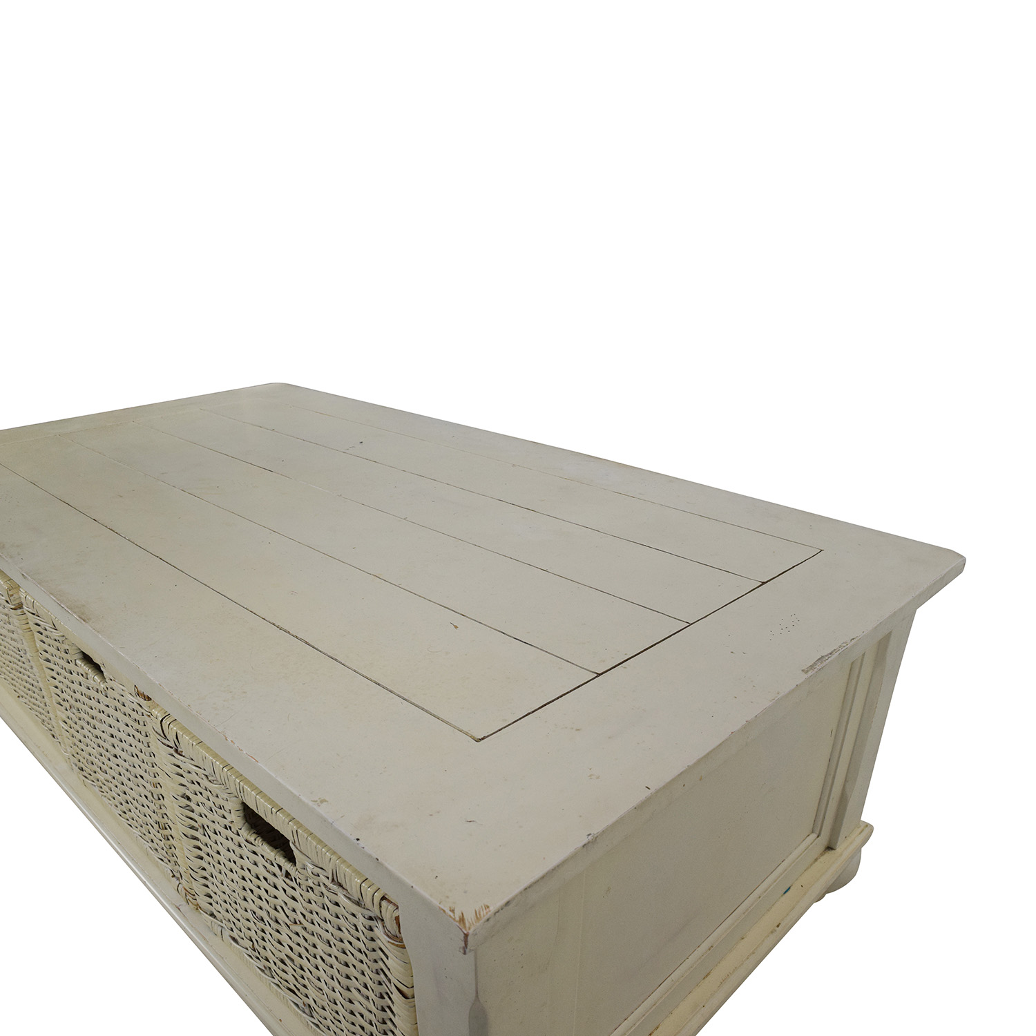 ... Klaussner Furniture Treasures White Coffee Table / Coffee Tables ...