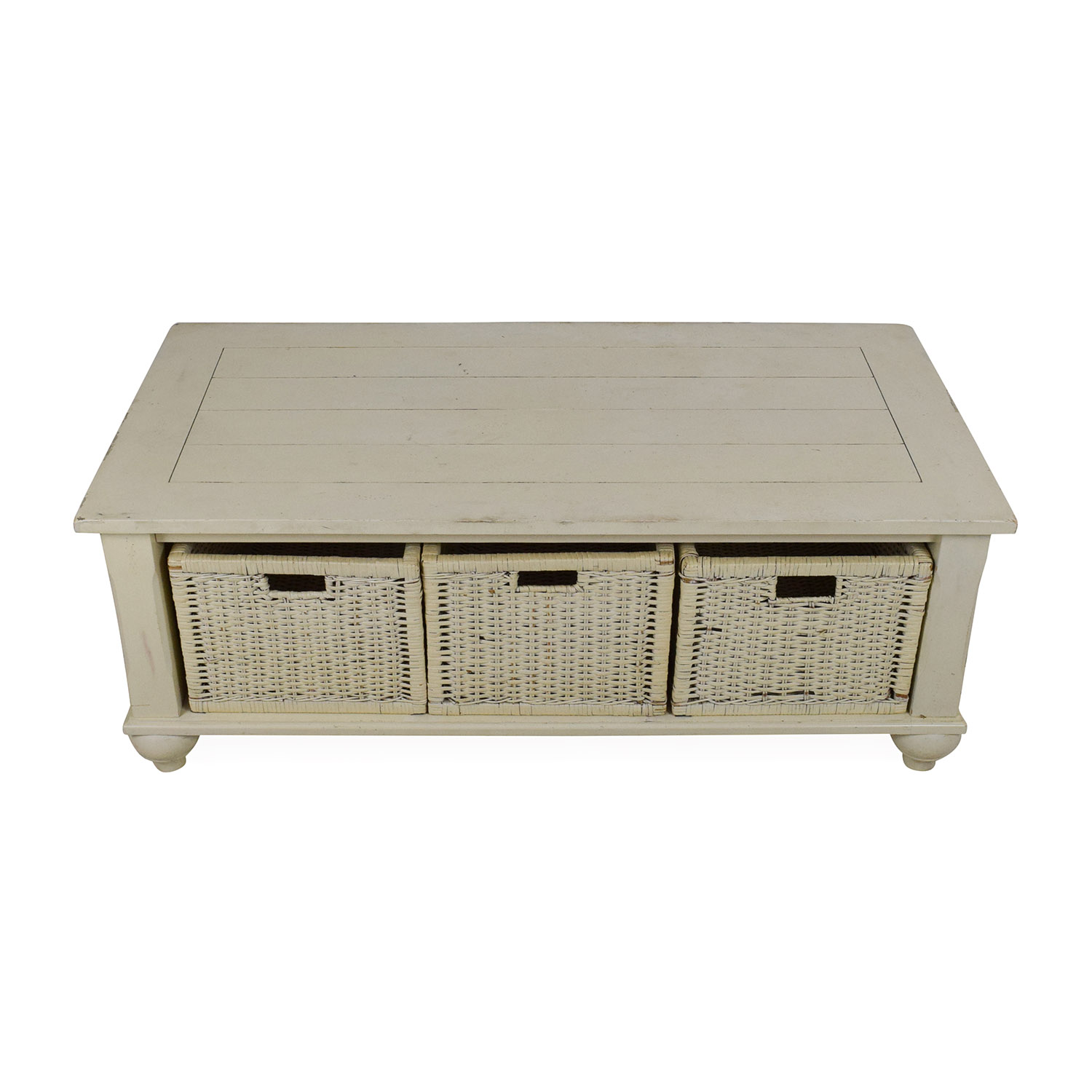 Klaussner Furniture Klaussner Furniture Treasures White Coffee Table dimensions