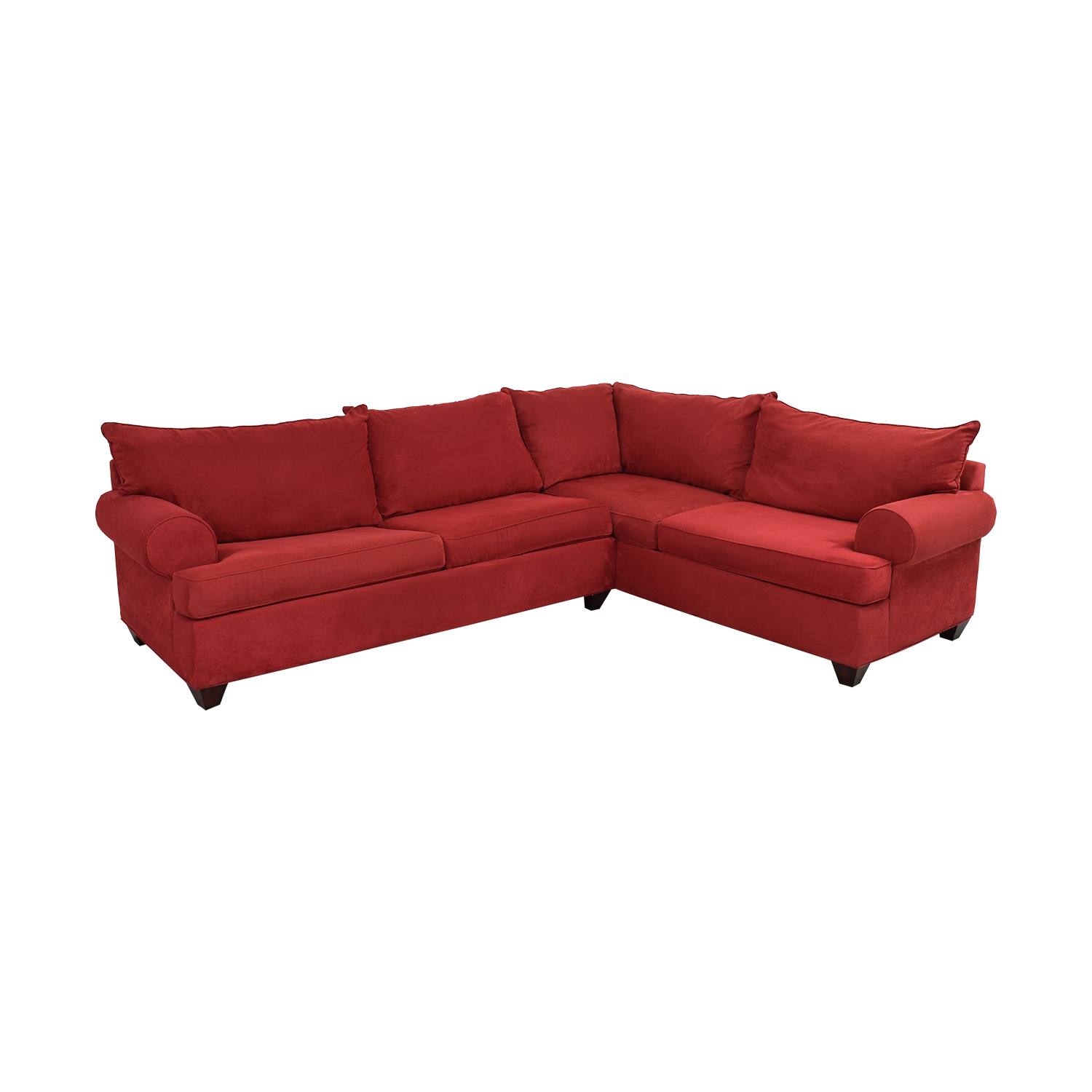 Raymour & Flanigan Raymour & Flanigan Sleeper Sectional Sofa Sectionals