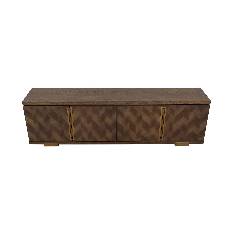 ABC Carpet & Home ABC Carpet & Home Chevron Sideboard nj