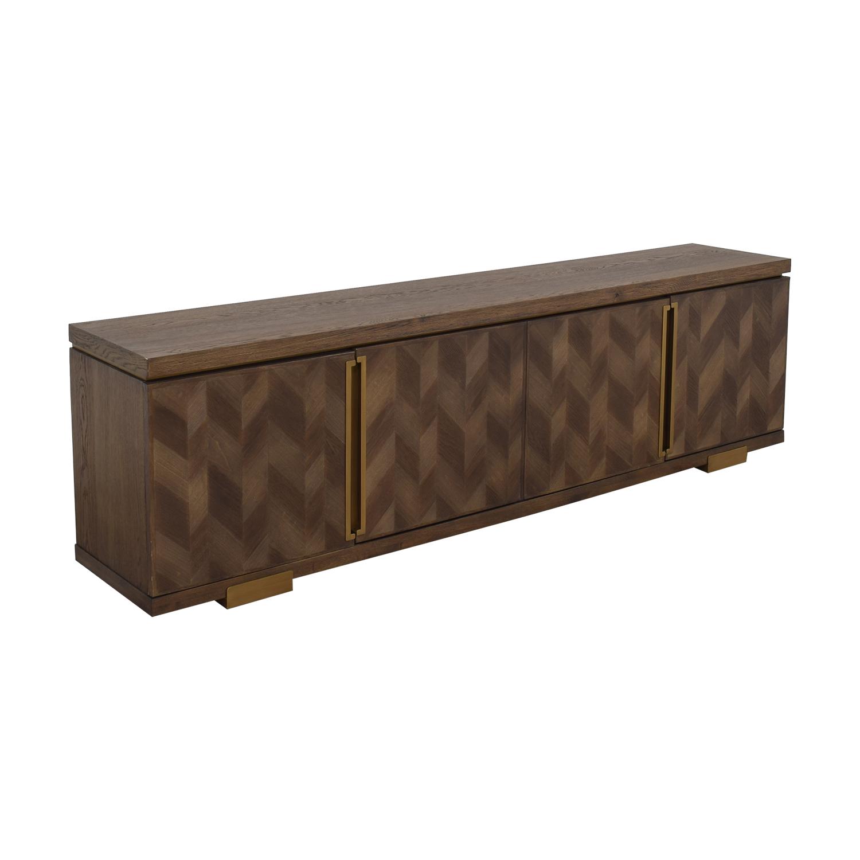buy ABC Carpet & Home Chevron Sideboard ABC Carpet & Home Media Units