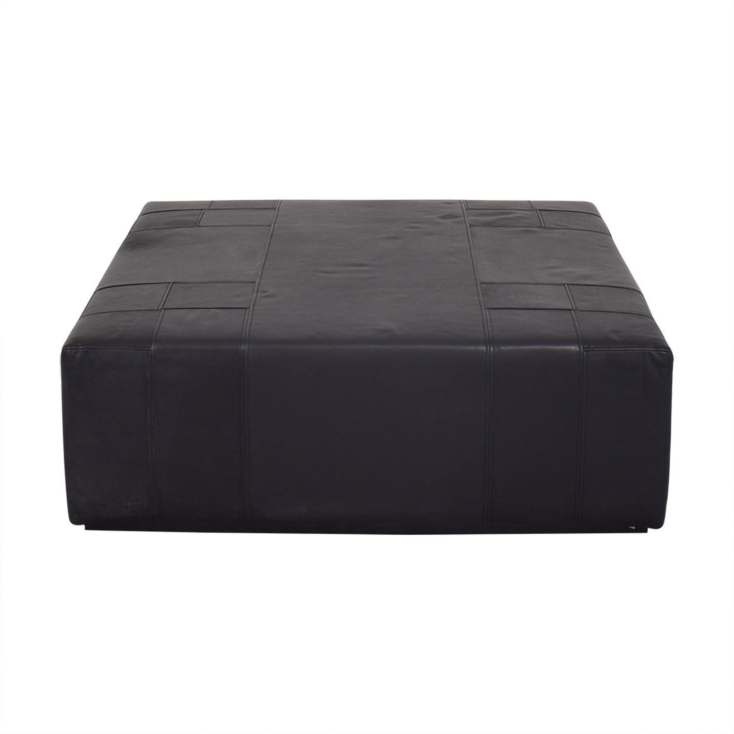 ABC Carpet & Home ABC Carpet & Home Square Ottoman discount