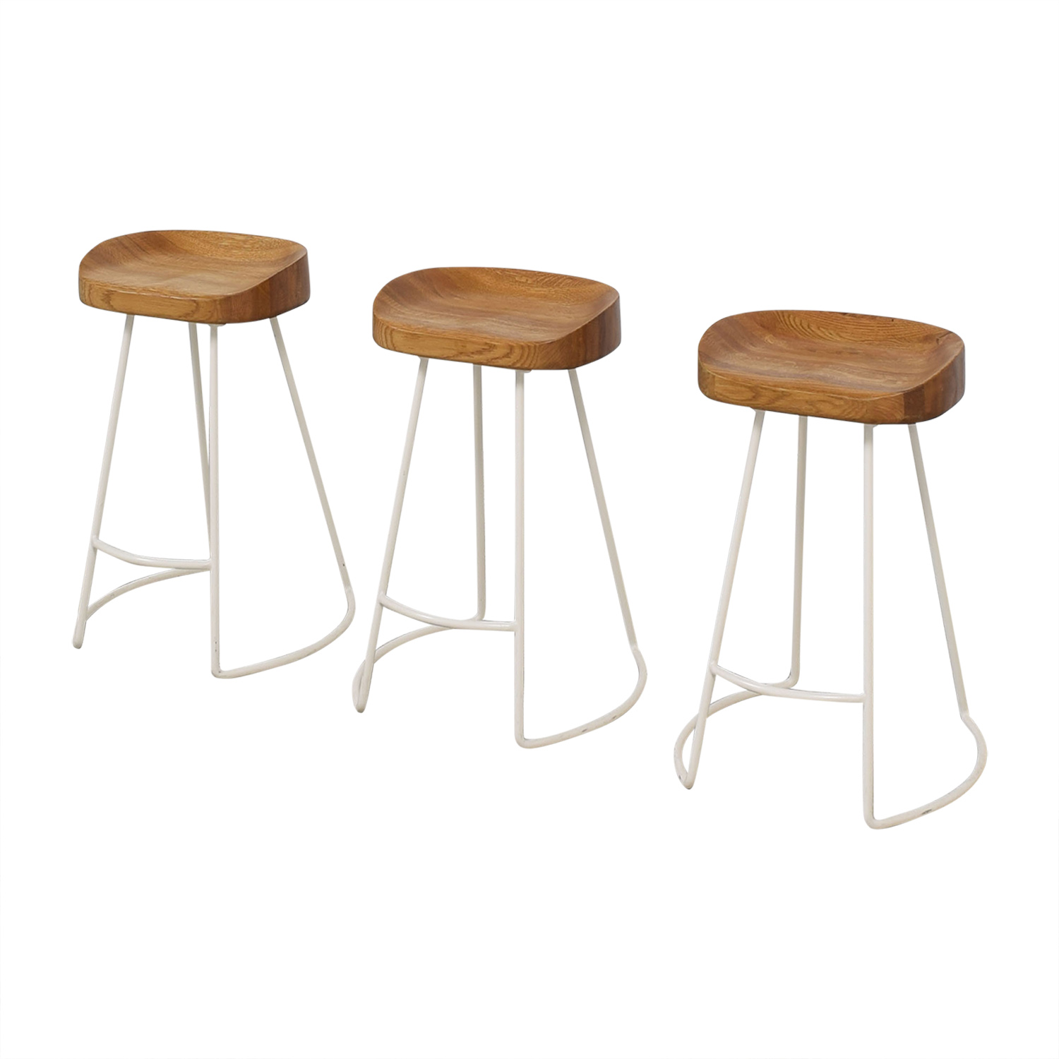 Wisteria Wisteria Natural Smart and Sleek Counter Stools Chairs