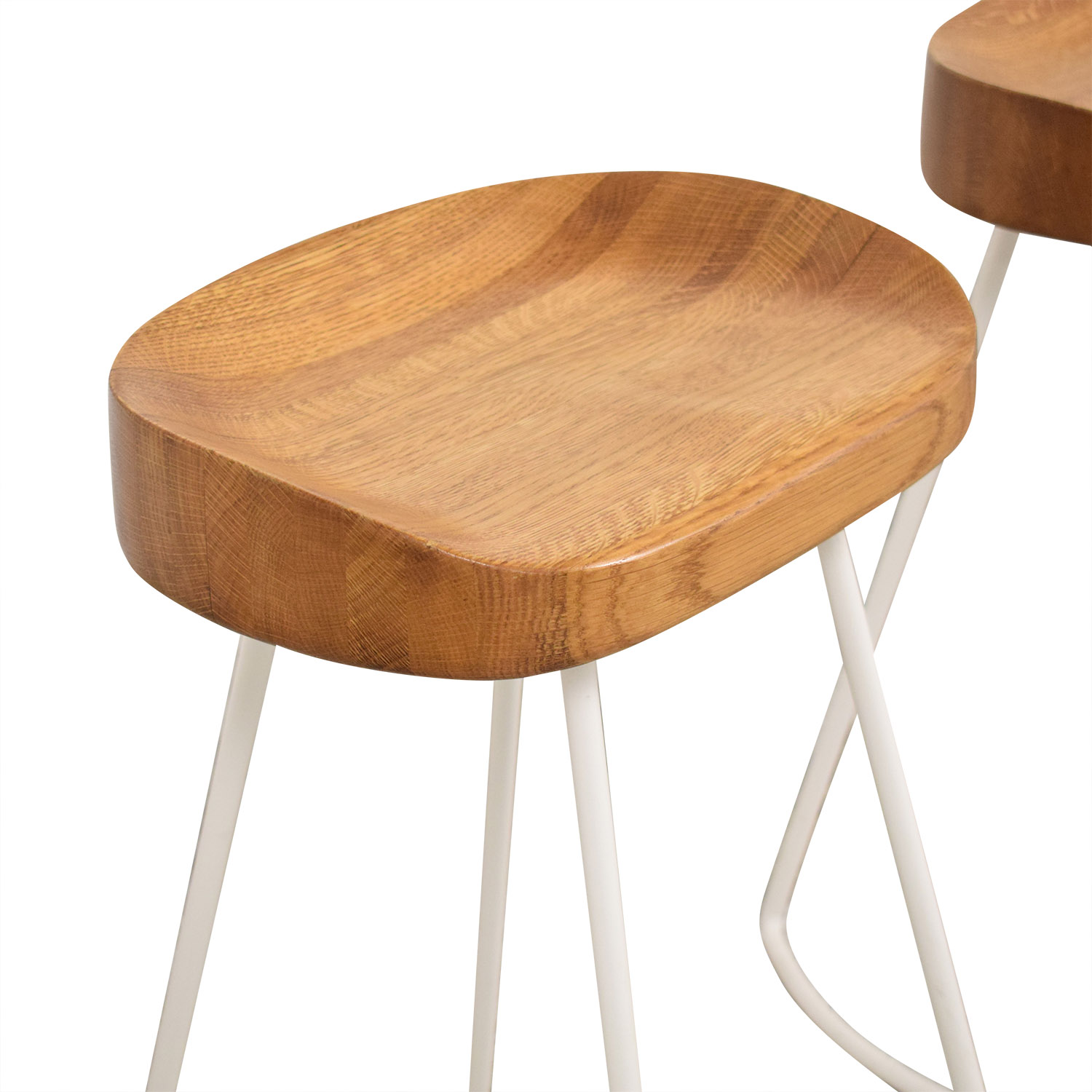 Wisteria Wisteria Natural Smart and Sleek Counter Stools ma