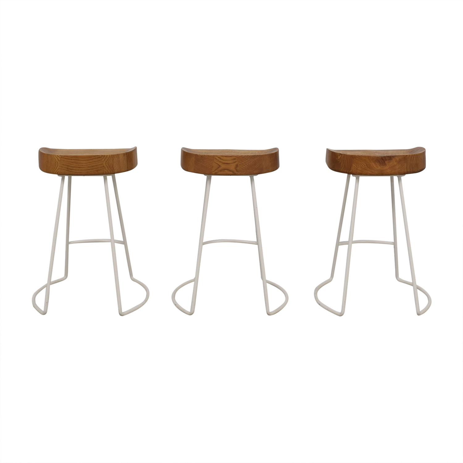 buy Wisteria Natural Smart and Sleek Counter Stools Wisteria