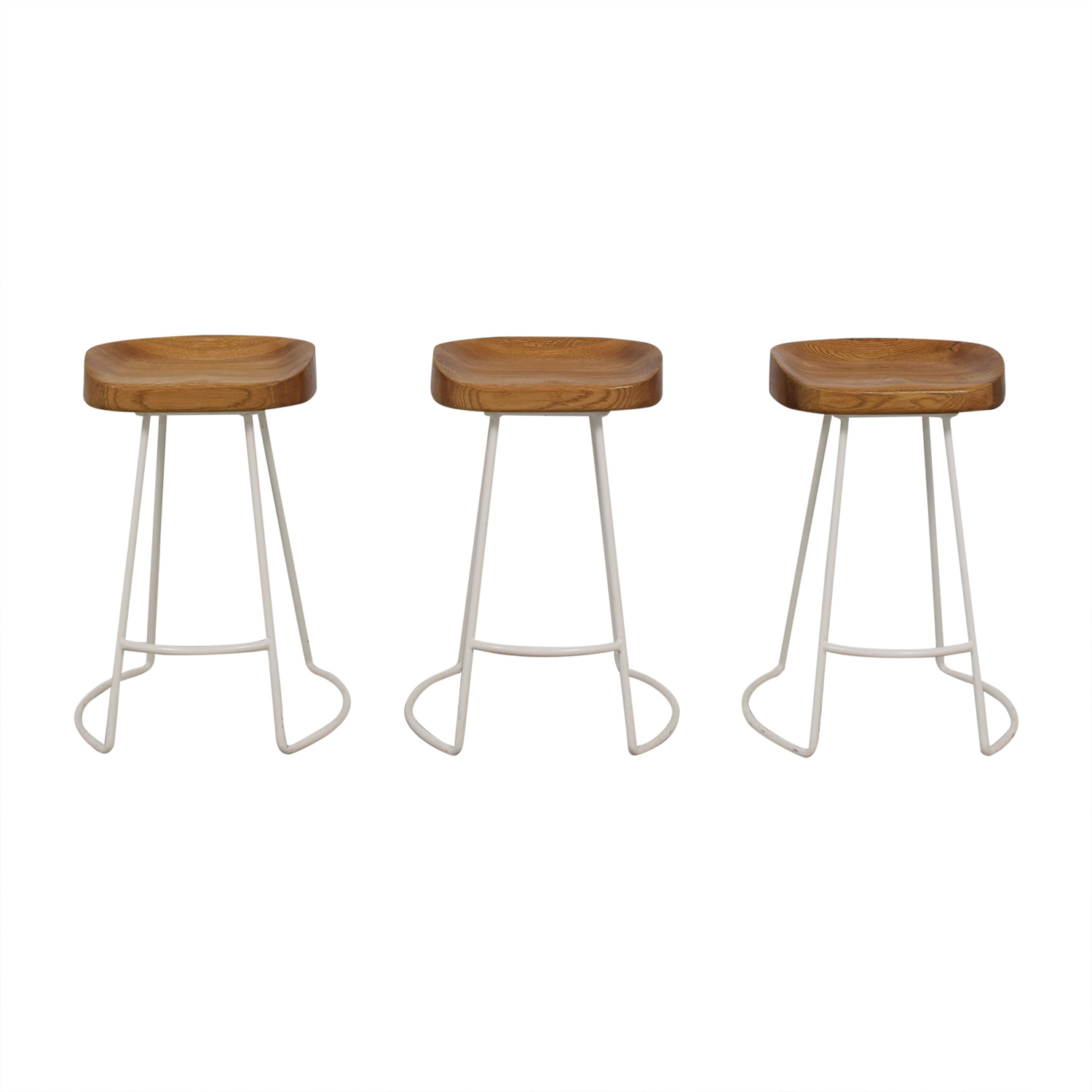 Wisteria Wisteria Natural Smart and Sleek Counter Stools price