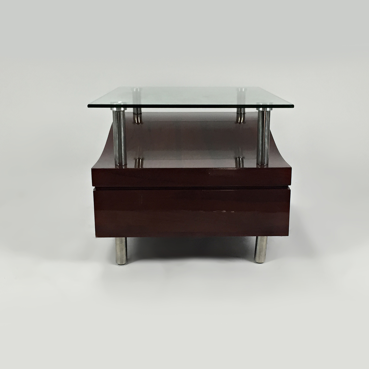 Unknown Brand Glass Top Night Stand price