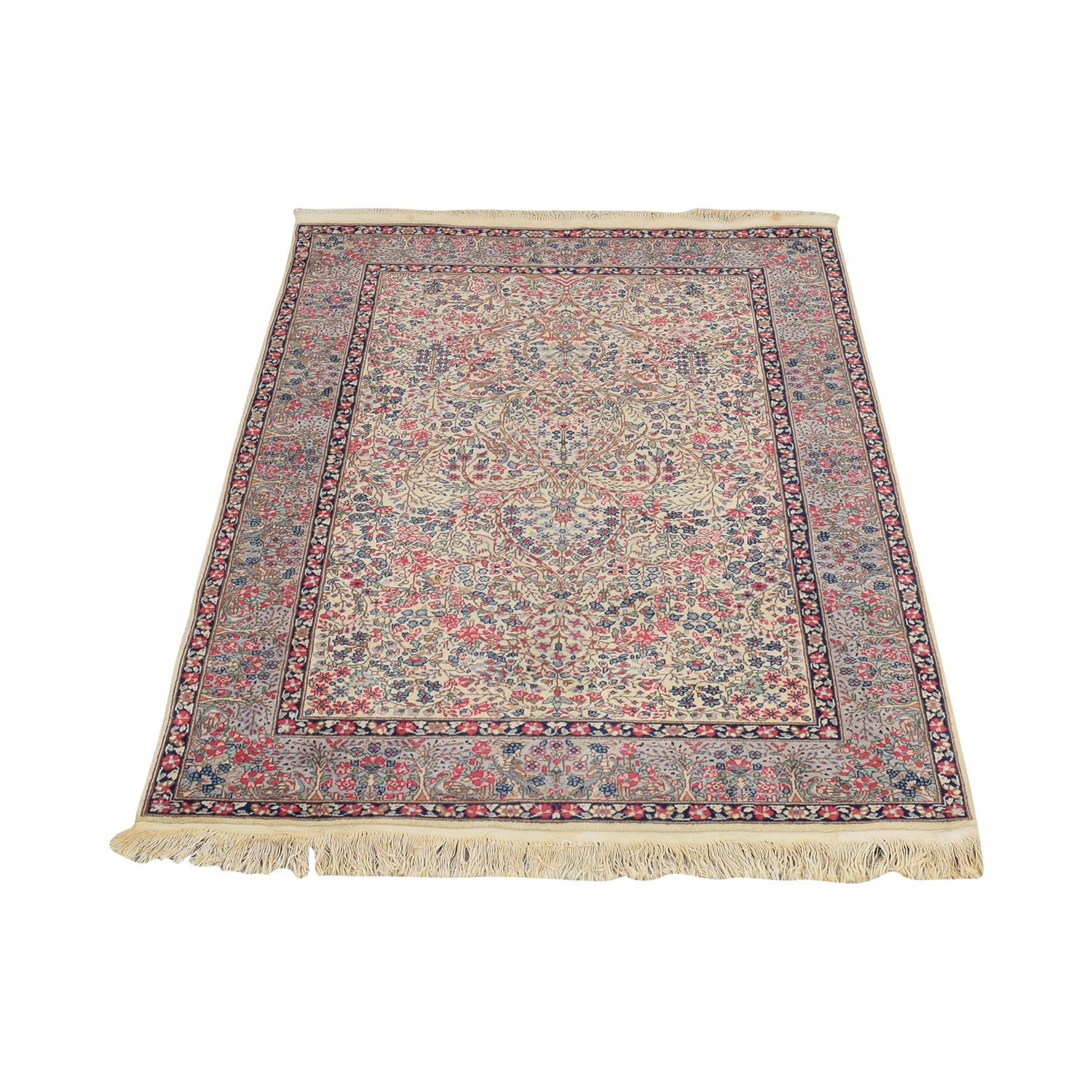 Persian Kirman Rug pa