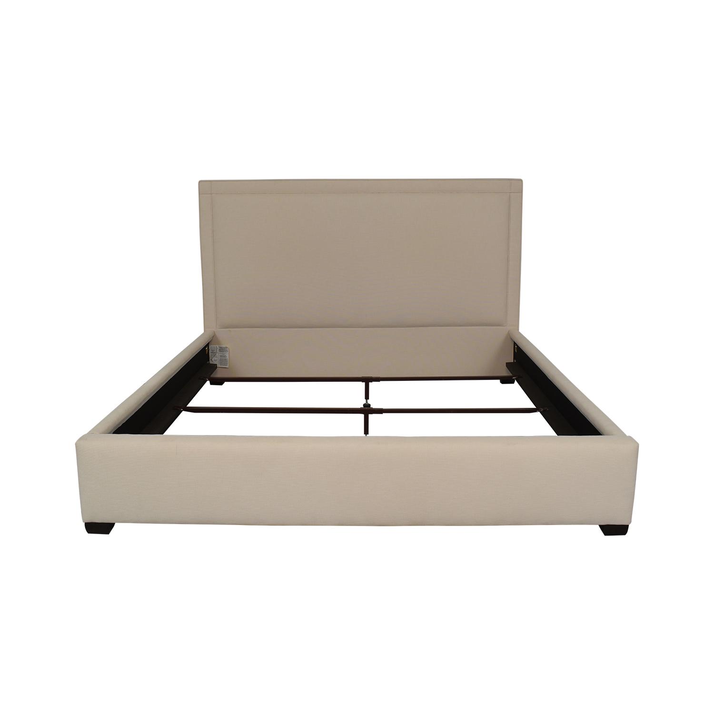 Bernhardt Bernhardt King Bed Frame off white