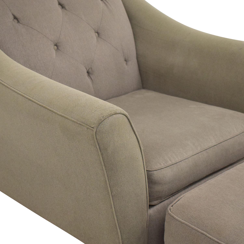 Bauhaus Furniture Bauhaus Furniture Armchair with Ottoman ma