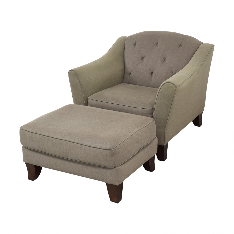 Bauhaus Furniture Armchair with Ottoman Bauhaus Furniture