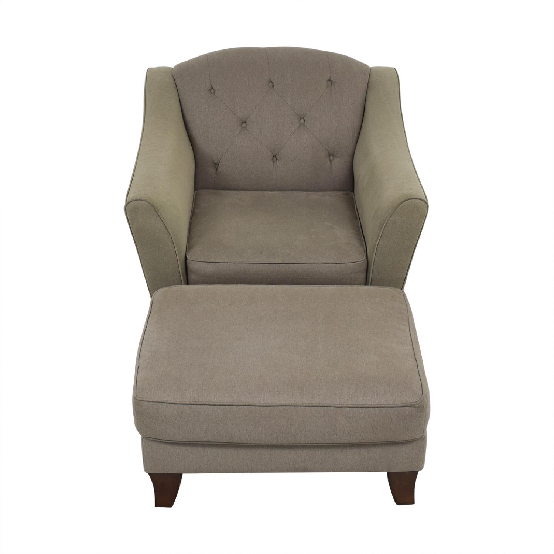 Bauhaus Furniture Bauhaus Furniture Armchair with Ottoman Accent Chairs