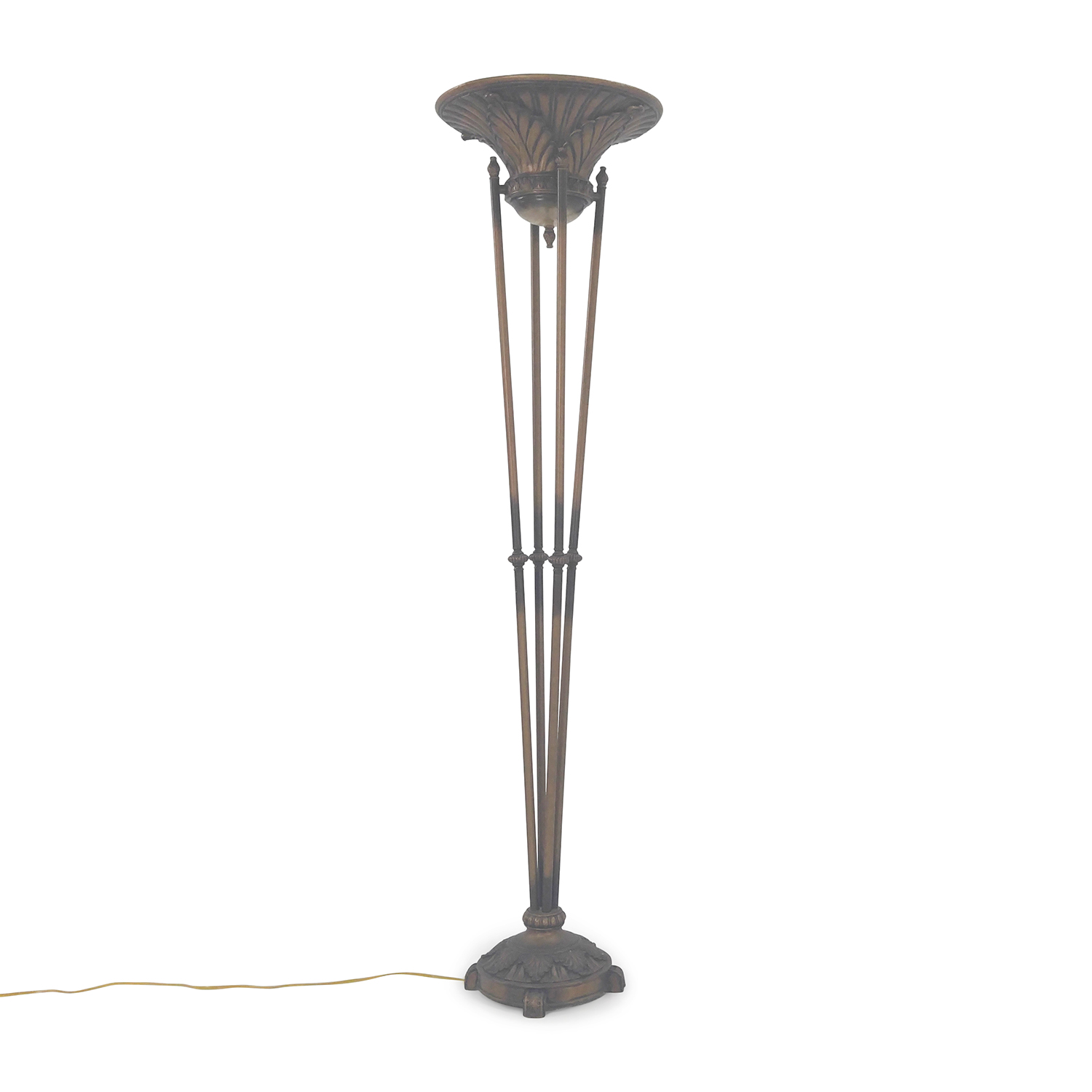 Cast Iron Large Floor Lamp / Lamps